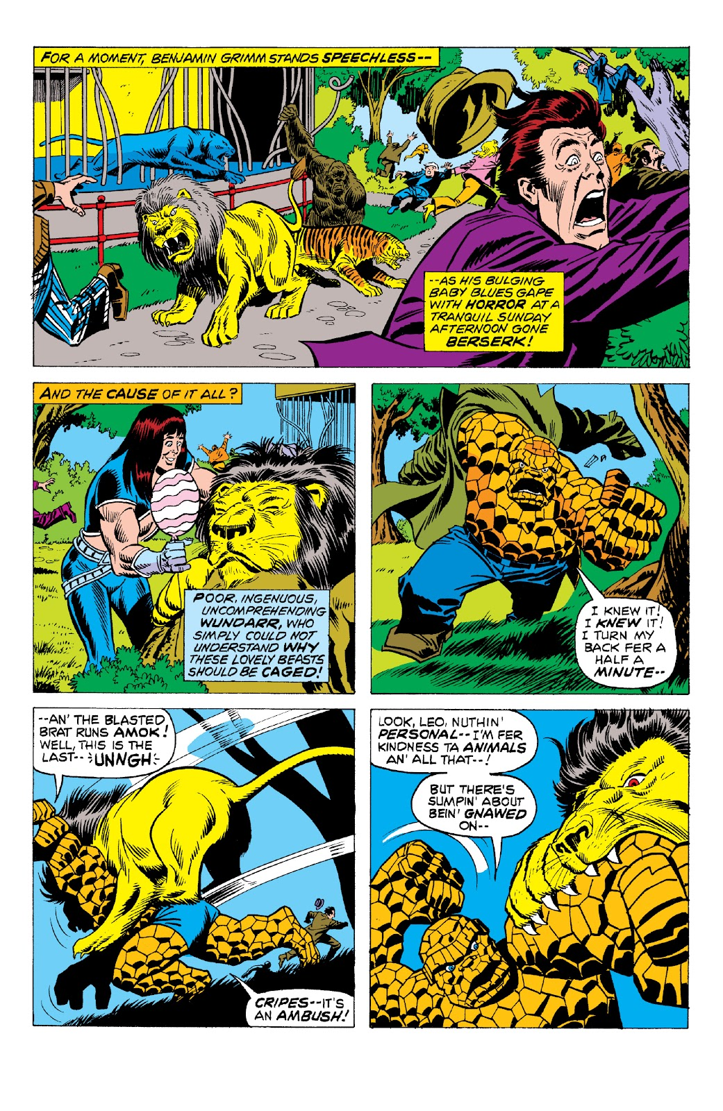 Read online Marvel Two-In-One Epic Collection: Cry Monster comic -  Issue # TPB (Part 2) - 8