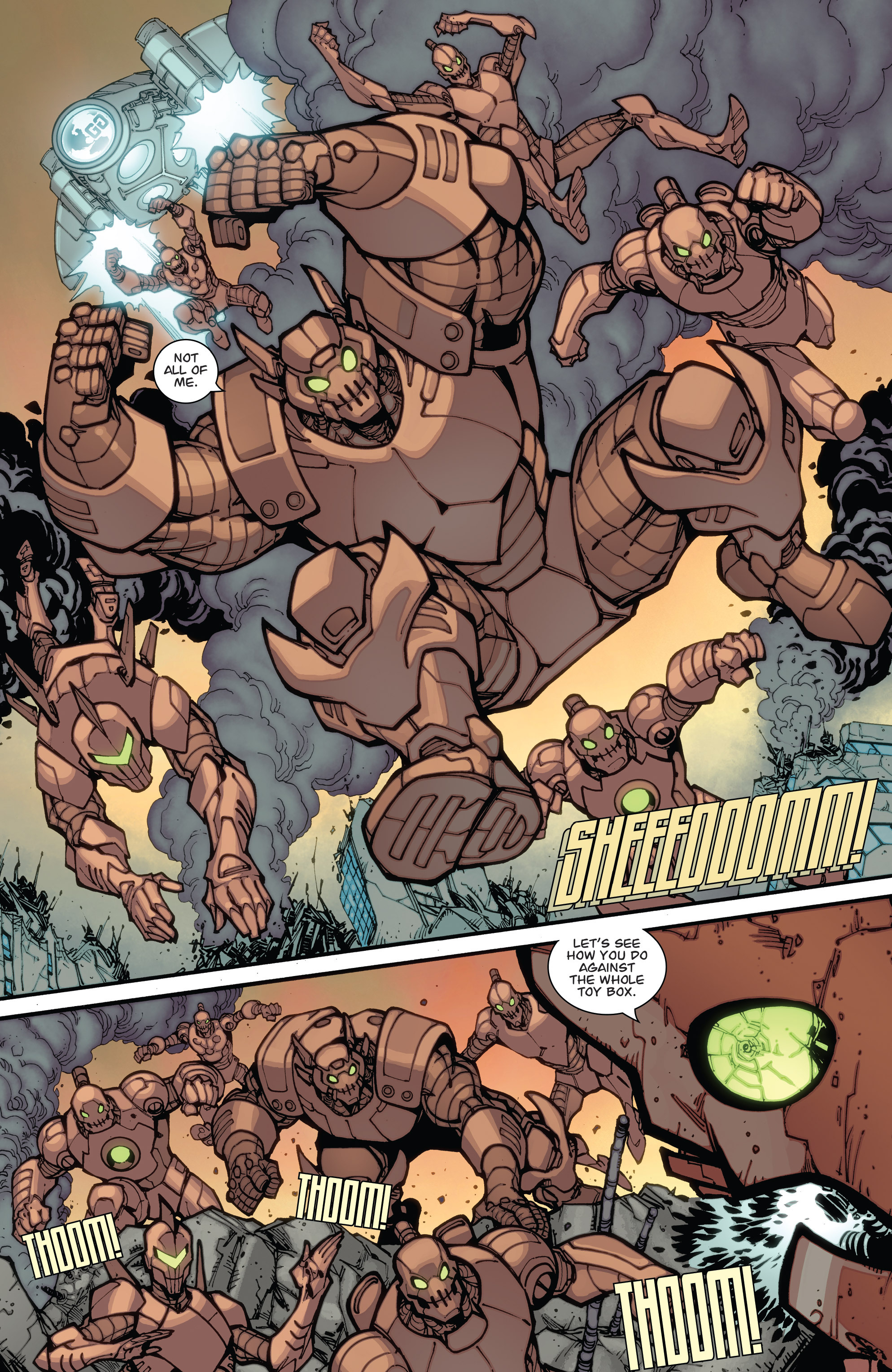 Read online Guarding the Globe (2012) comic -  Issue #6 - 11