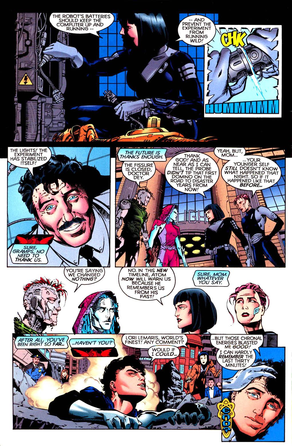Read online Tangent Comics/ Doom Patrol comic -  Issue # Full - 39