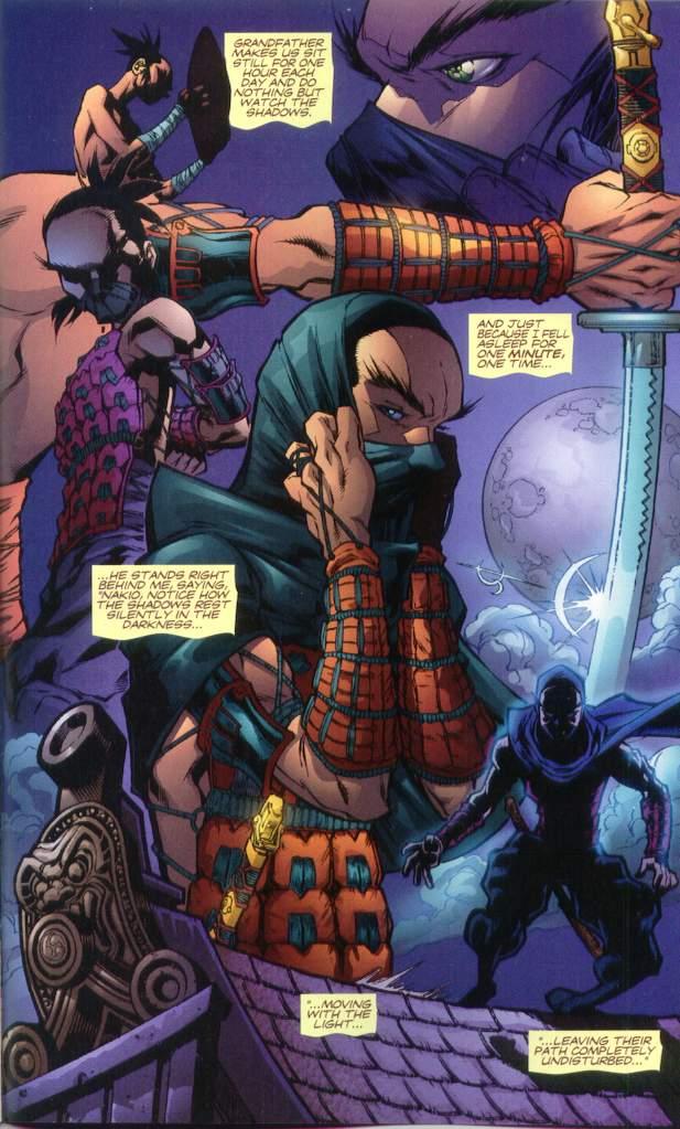 Read online Ninja Boy comic -  Issue #1 - 28