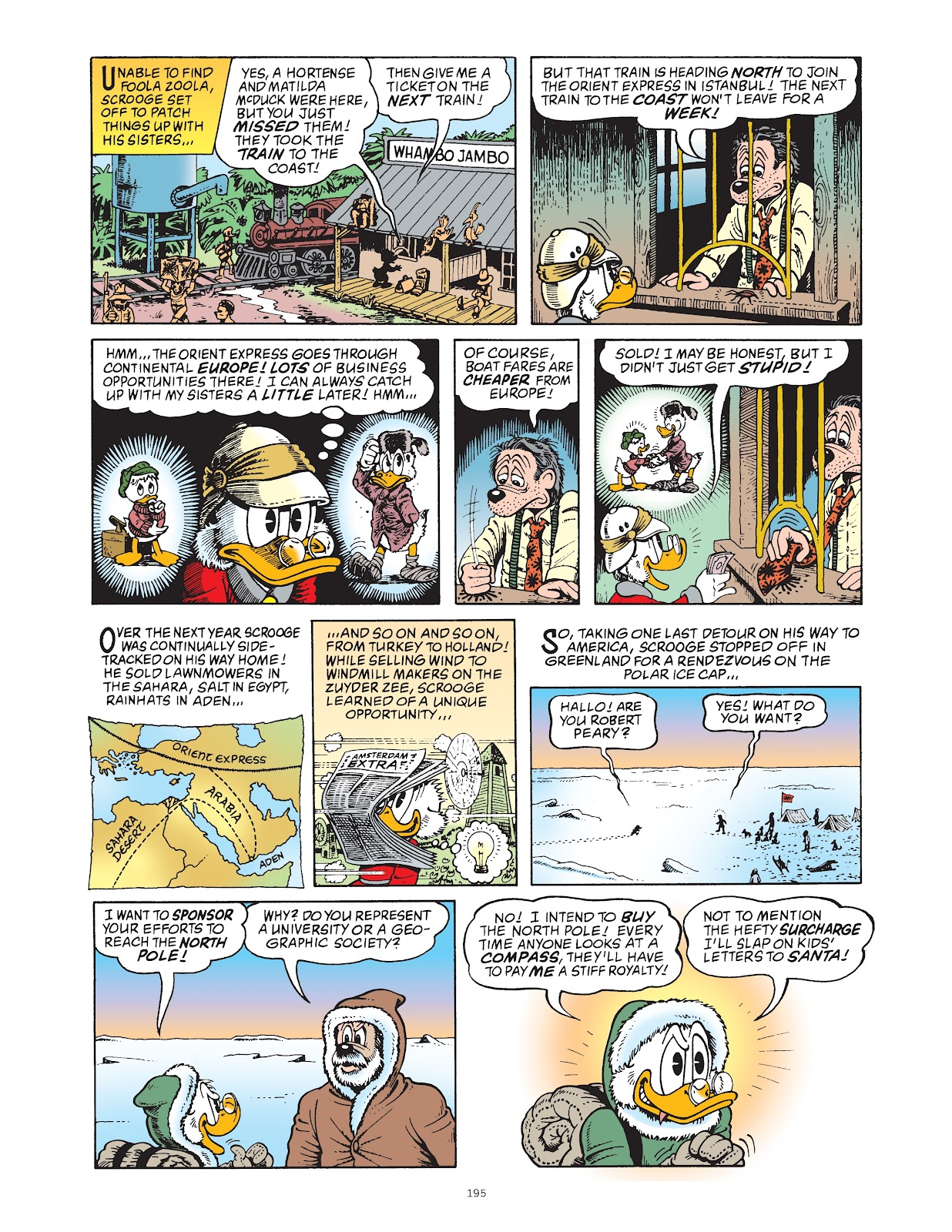 Read online The Complete Life and Times of Scrooge McDuck comic -  Issue # TPB 1 (Part 2) - 90
