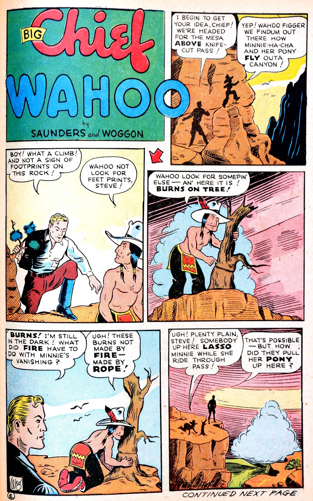 Read online Famous Funnies comic -  Issue #120 - 42