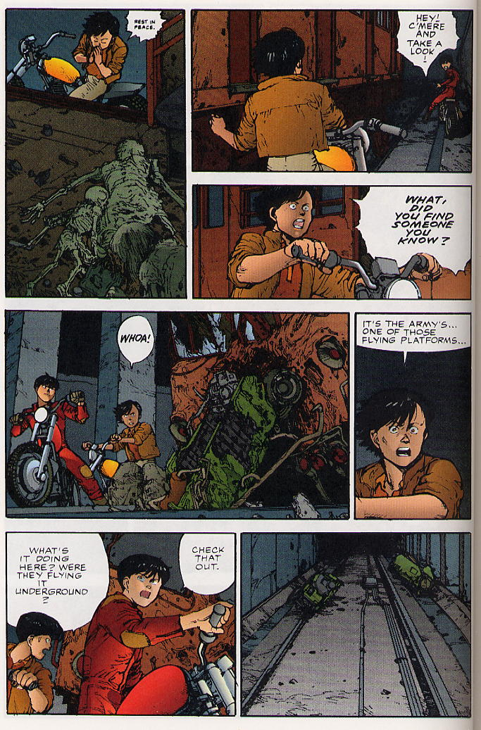 Read online Akira comic -  Issue #25 - 39