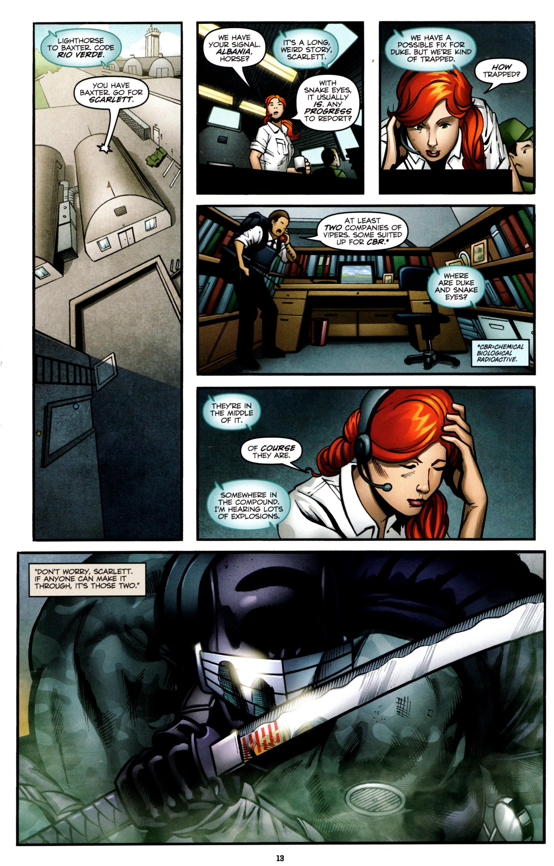 Read online G.I. Joe: Snake Eyes comic -  Issue #8 - 16