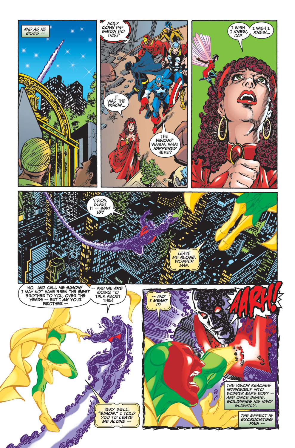 Read online Avengers (1998) comic -  Issue #23 - 14
