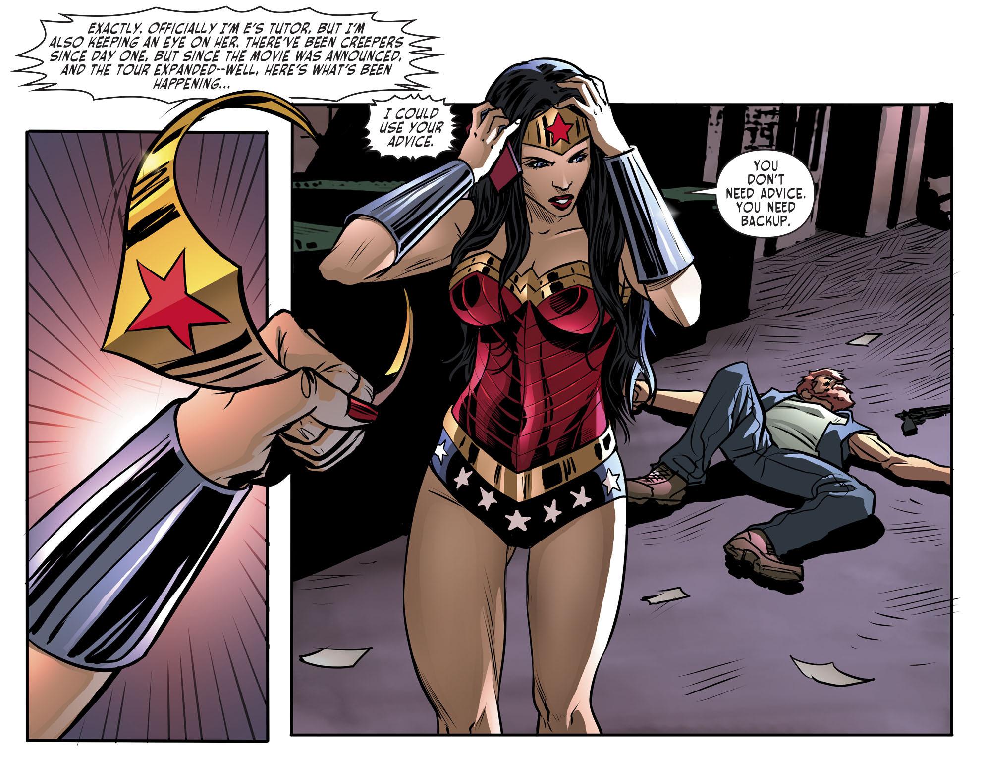 Read online Sensation Comics Featuring Wonder Woman comic -  Issue #29 - 18