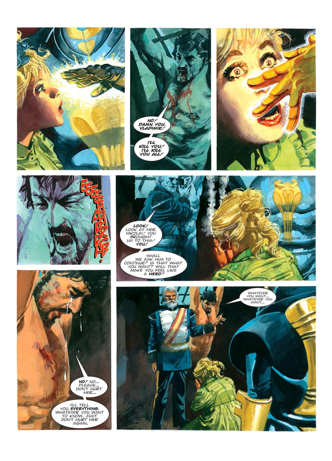 Read online Nikolai Dante comic -  Issue # TPB 9 - 89