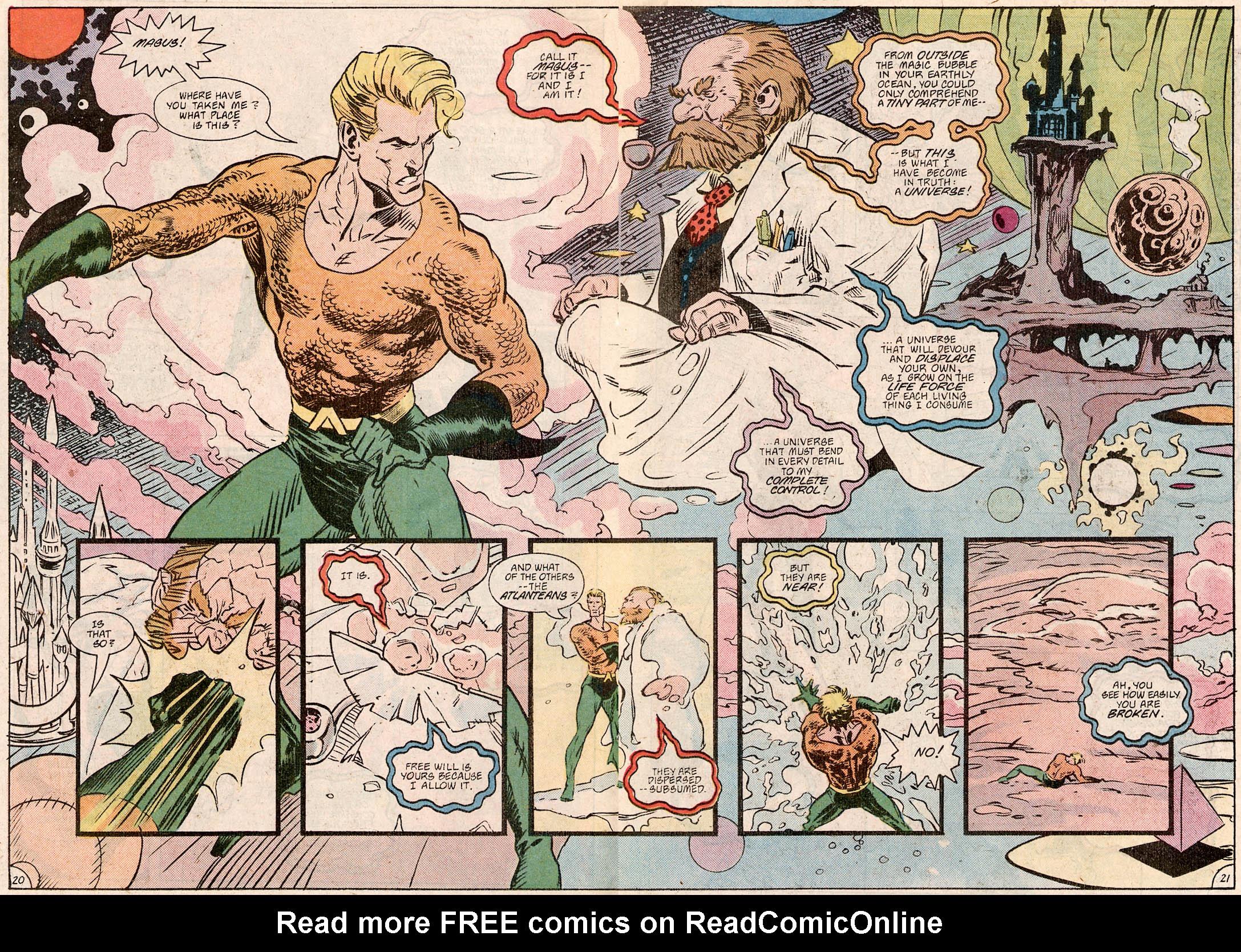 Read online Aquaman Special comic -  Issue #Aquaman Special Full - 22
