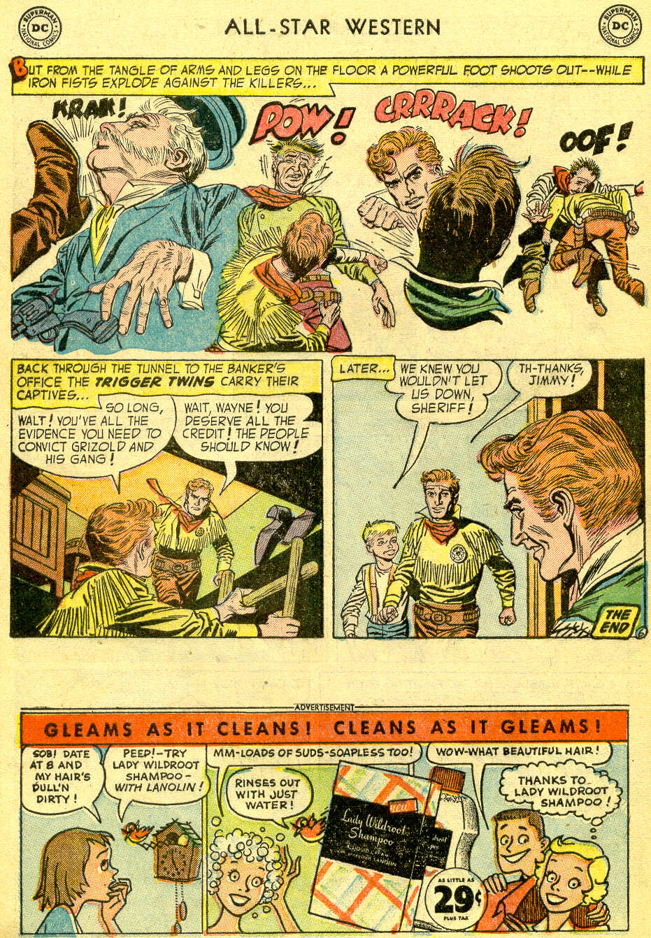 Read online All-Star Western (1951) comic -  Issue #75 - 8