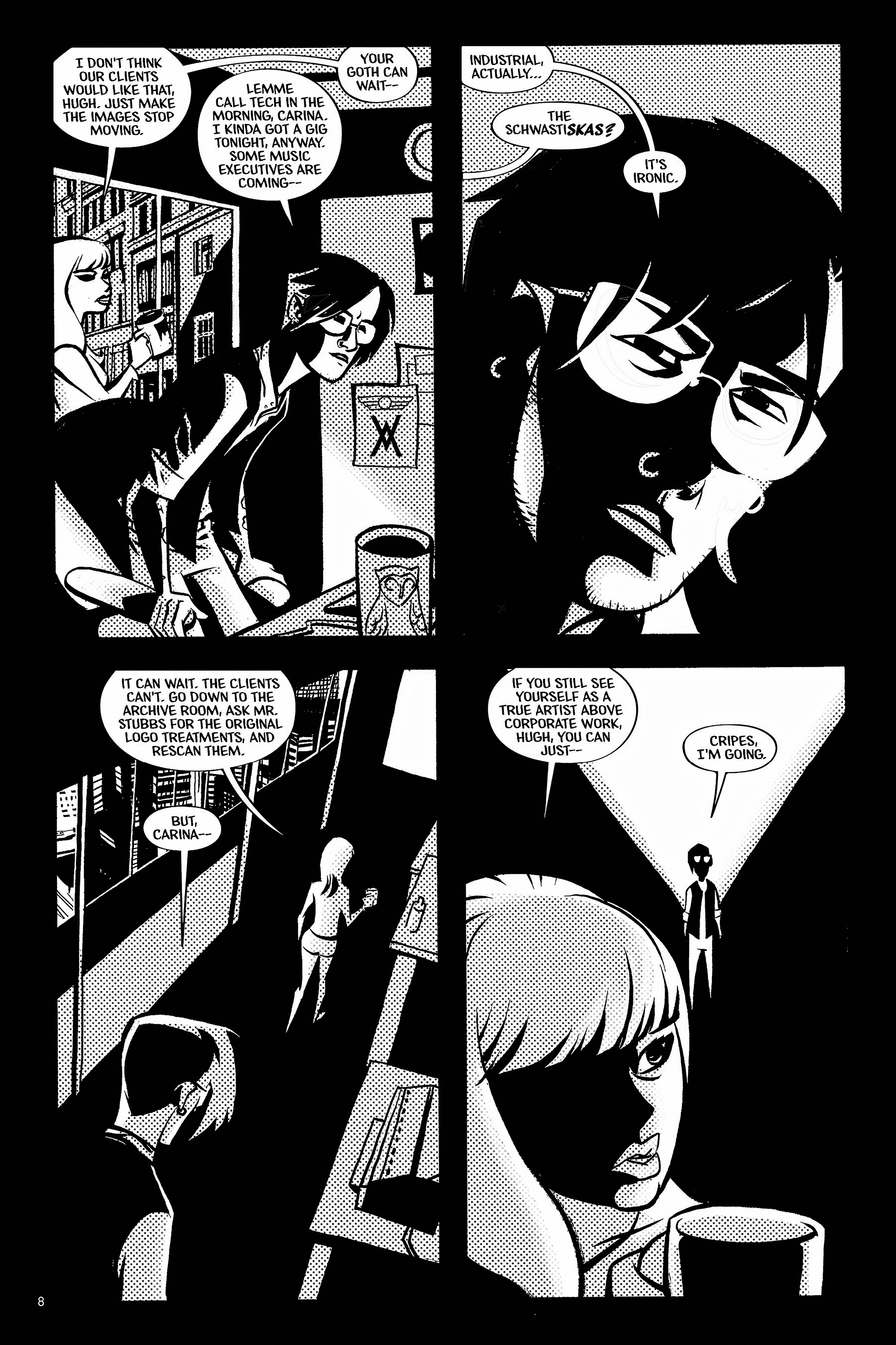 Read online Aleister & Adolf comic -  Issue # TPB - 8