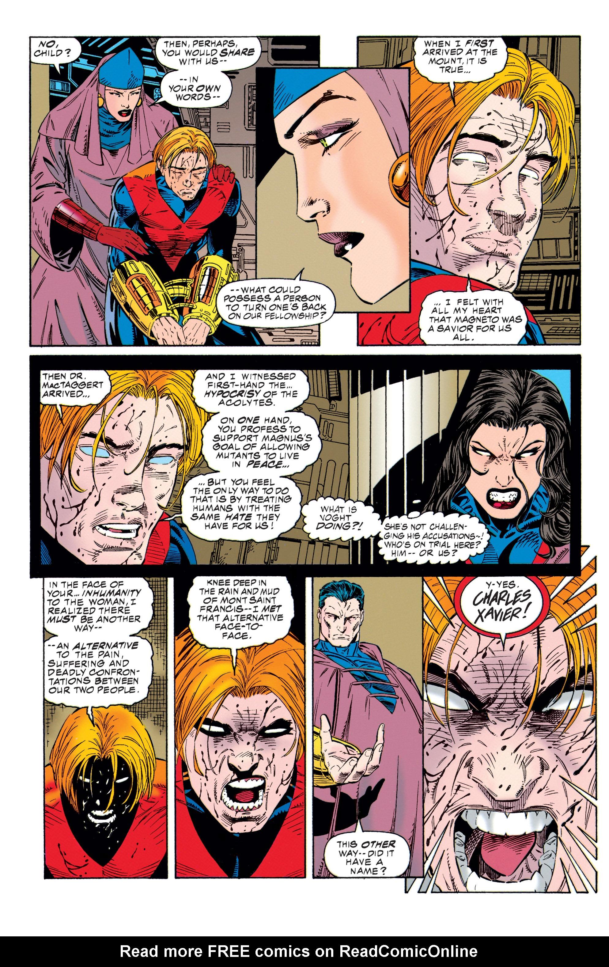 Read online Uncanny X-Men (1963) comic -  Issue #315 - 14
