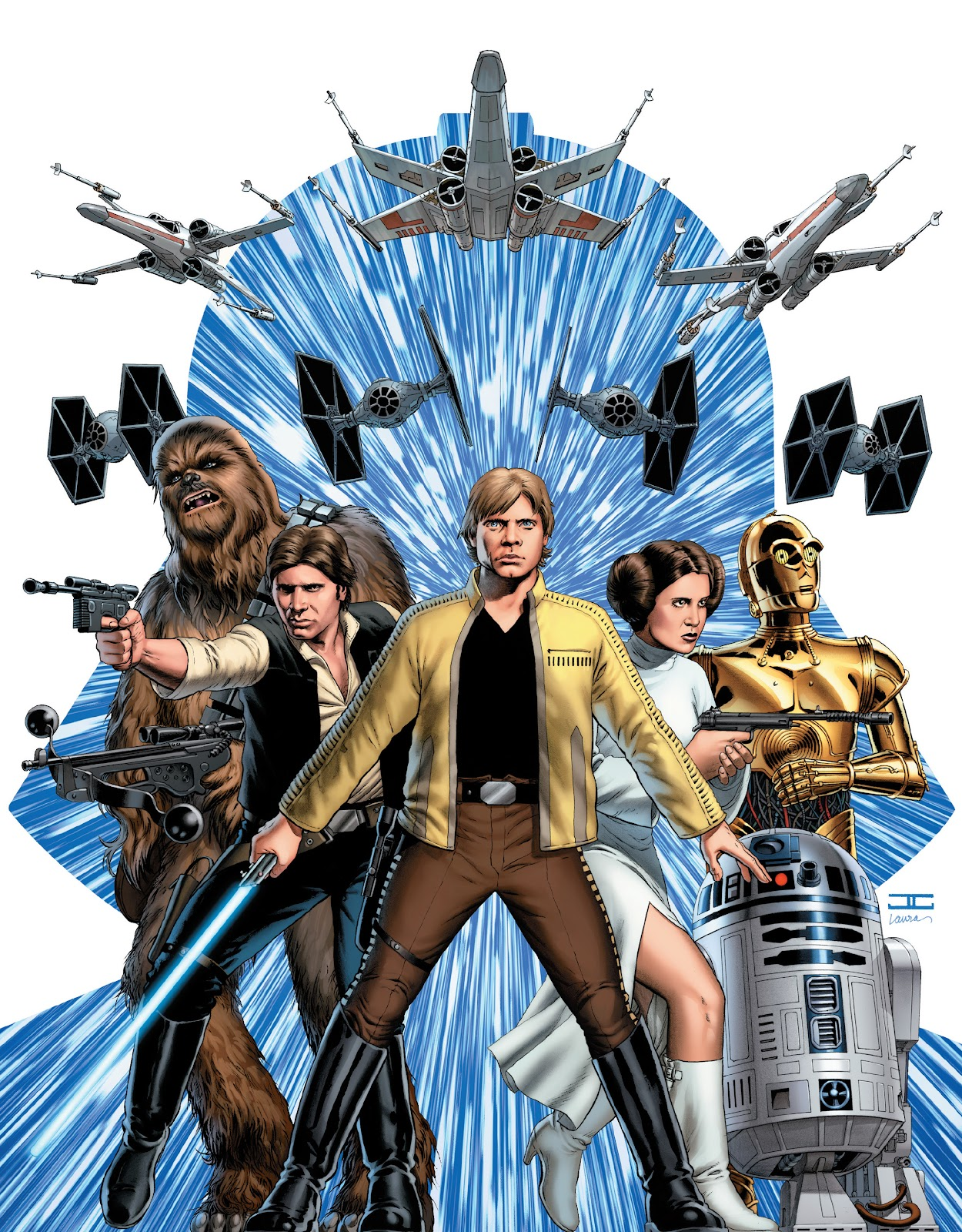 Read online The Marvel Art of Star Wars comic -  Issue # TPB (Part 1) - 15