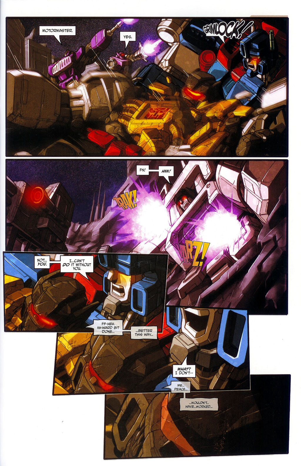 """Read online Transformers War Within: """"The Age of Wrath"""" comic -  Issue #1 - 24"""