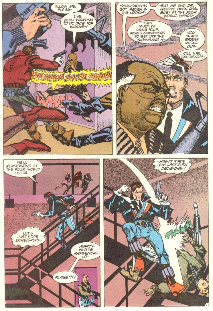 Read online American Flagg! comic -  Issue #12 - 18