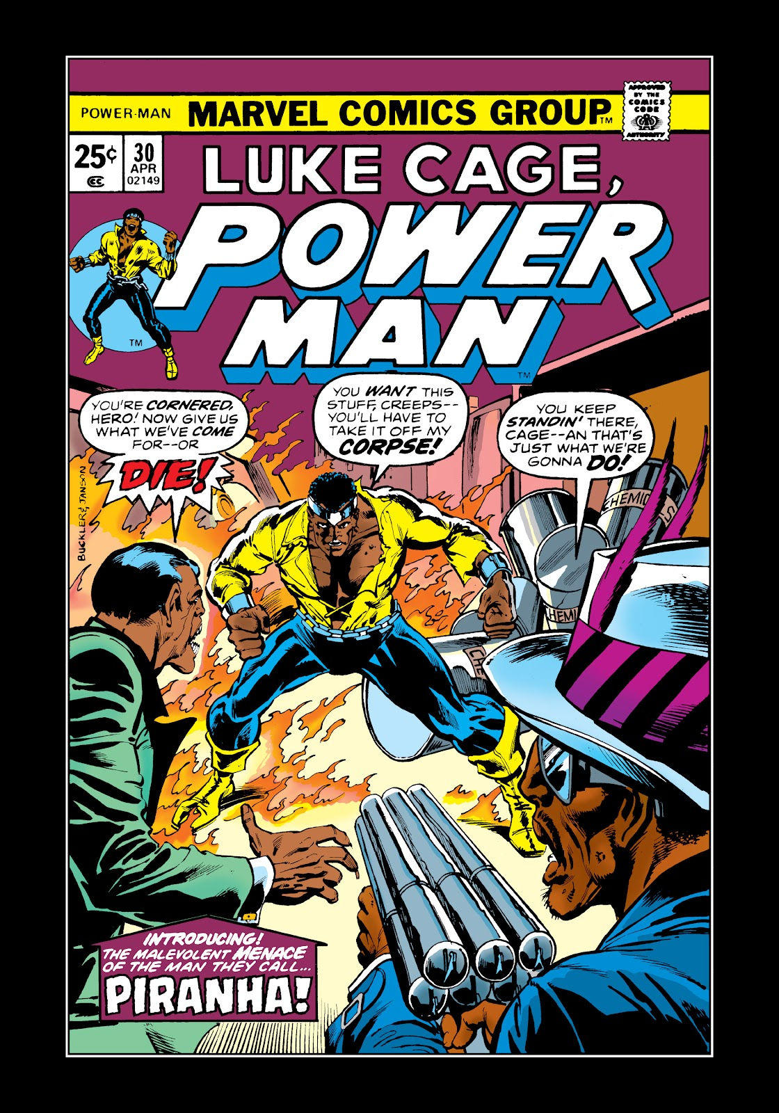 Read online Marvel Masterworks: Luke Cage, Power Man comic -  Issue # TPB 2 (Part 3) - 58