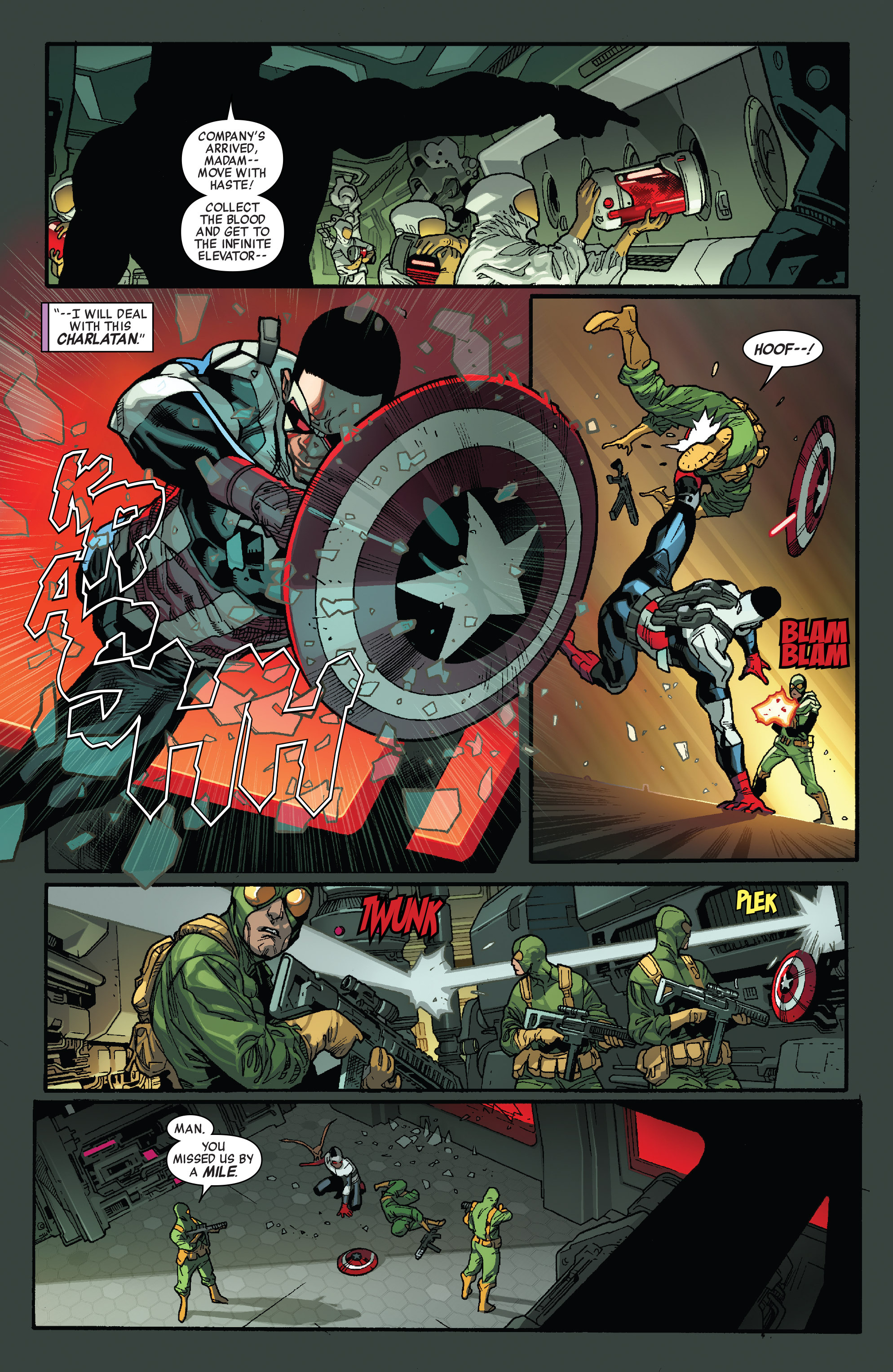 Read online All-New Captain America comic -  Issue #1 - 10
