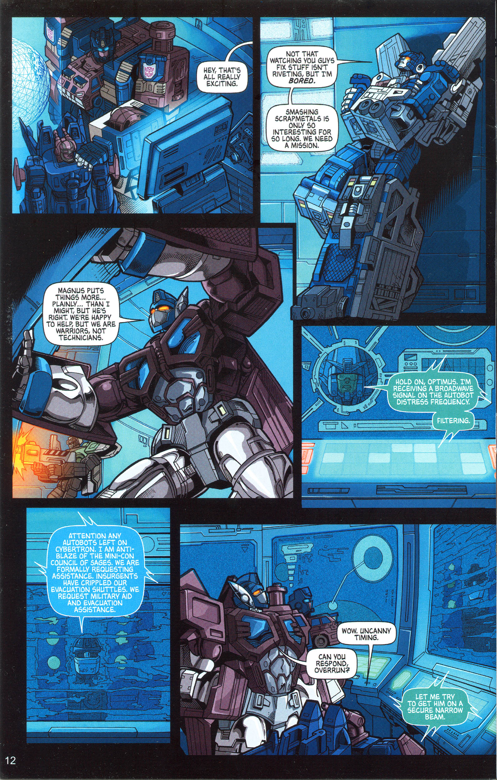 Read online Transformers: Collectors' Club comic -  Issue #10 - 12