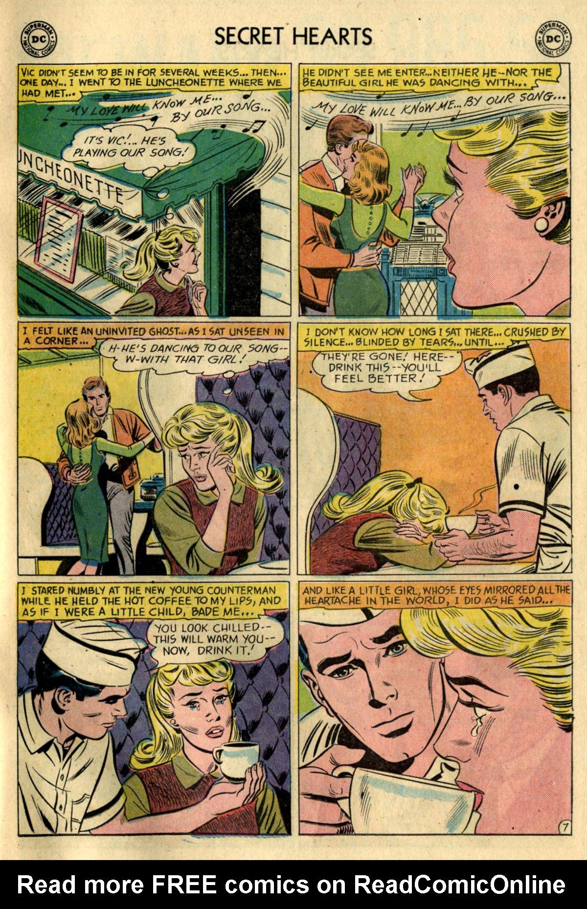 Read online Secret Hearts comic -  Issue #83 - 33