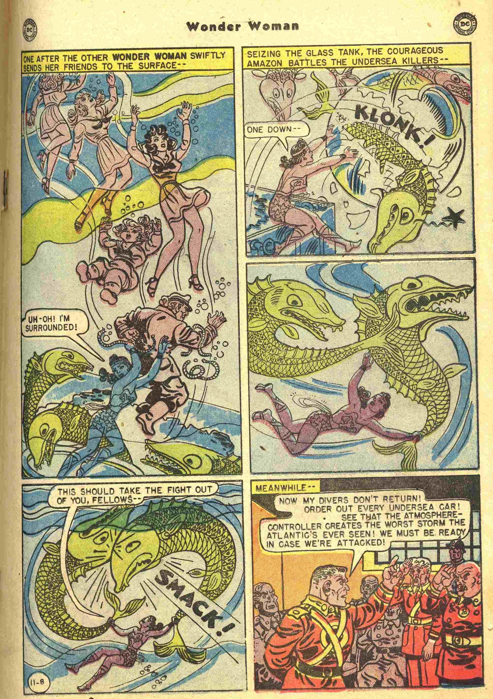 Read online Wonder Woman (1942) comic -  Issue #44 - 24