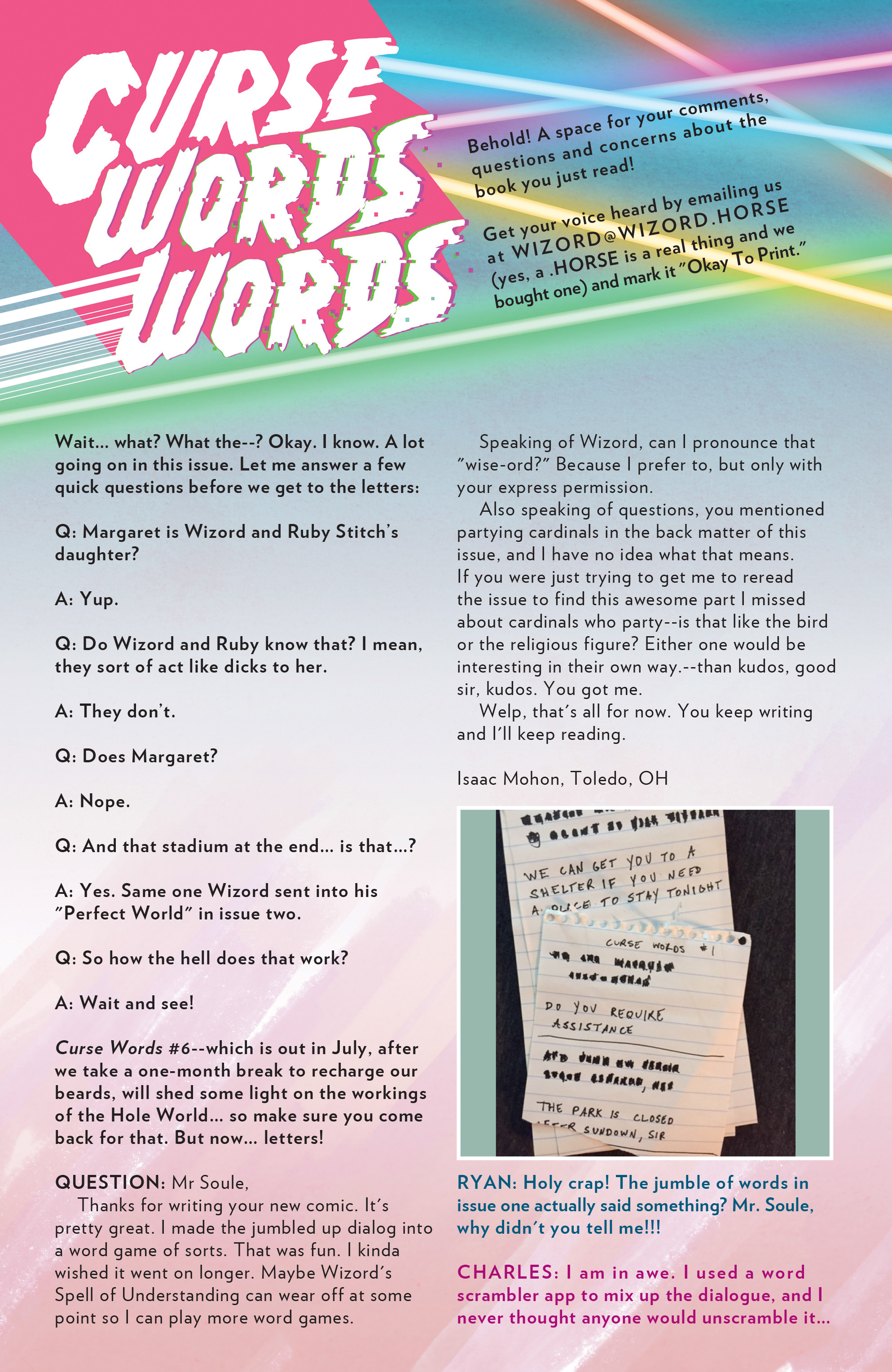 Read online Curse Words comic -  Issue #5 - 26