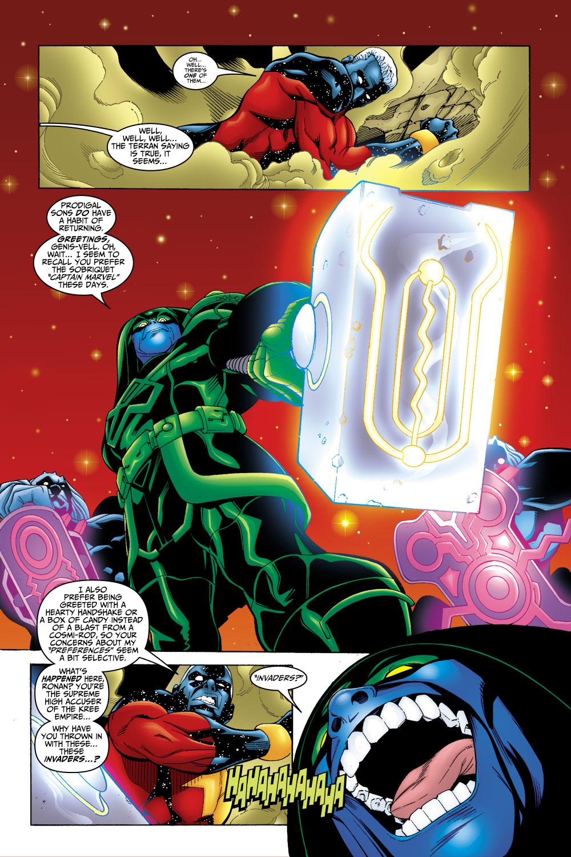 Captain Marvel (1999) Issue #22 #23 - English 22