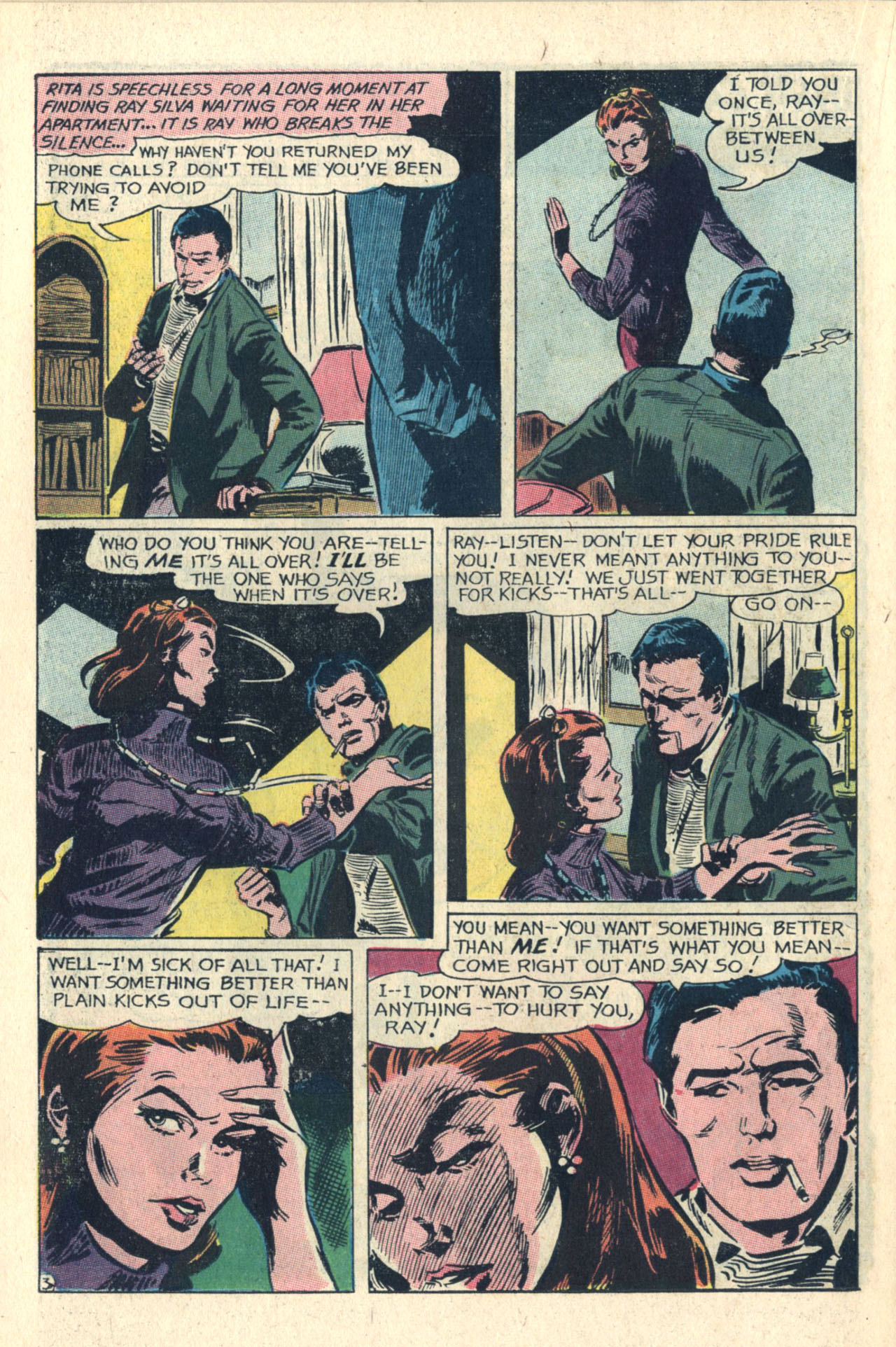 Read online Secret Hearts comic -  Issue #112 - 22