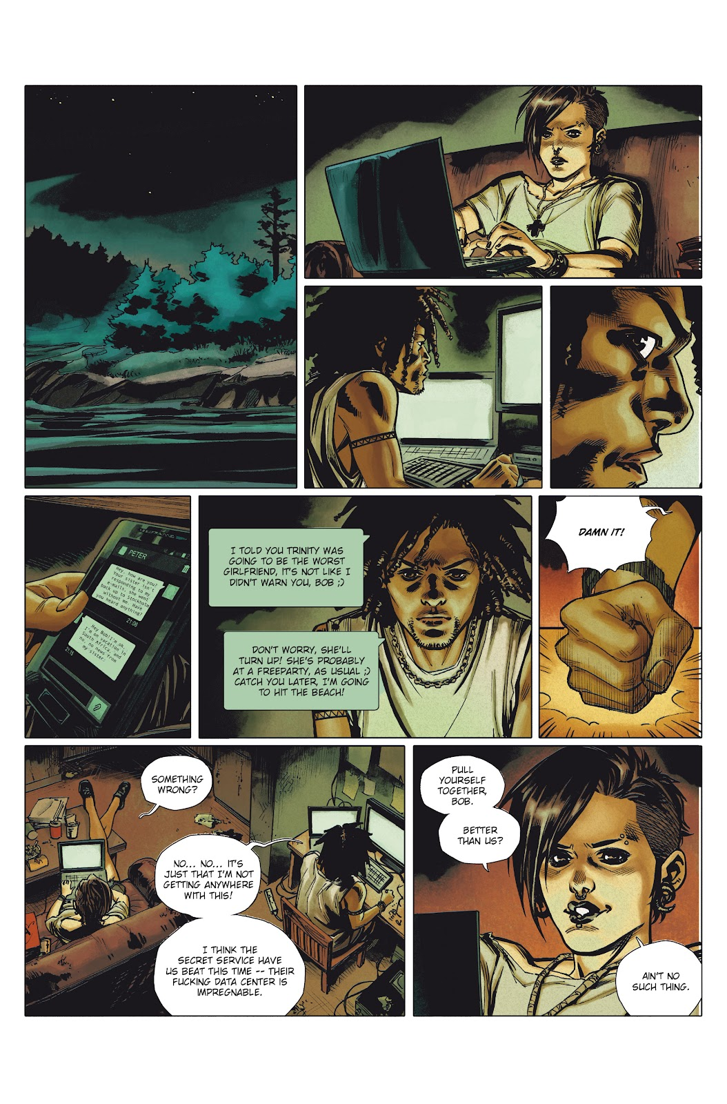 Read online Millennium: The Girl Who Danced With Death comic -  Issue #1 - 21