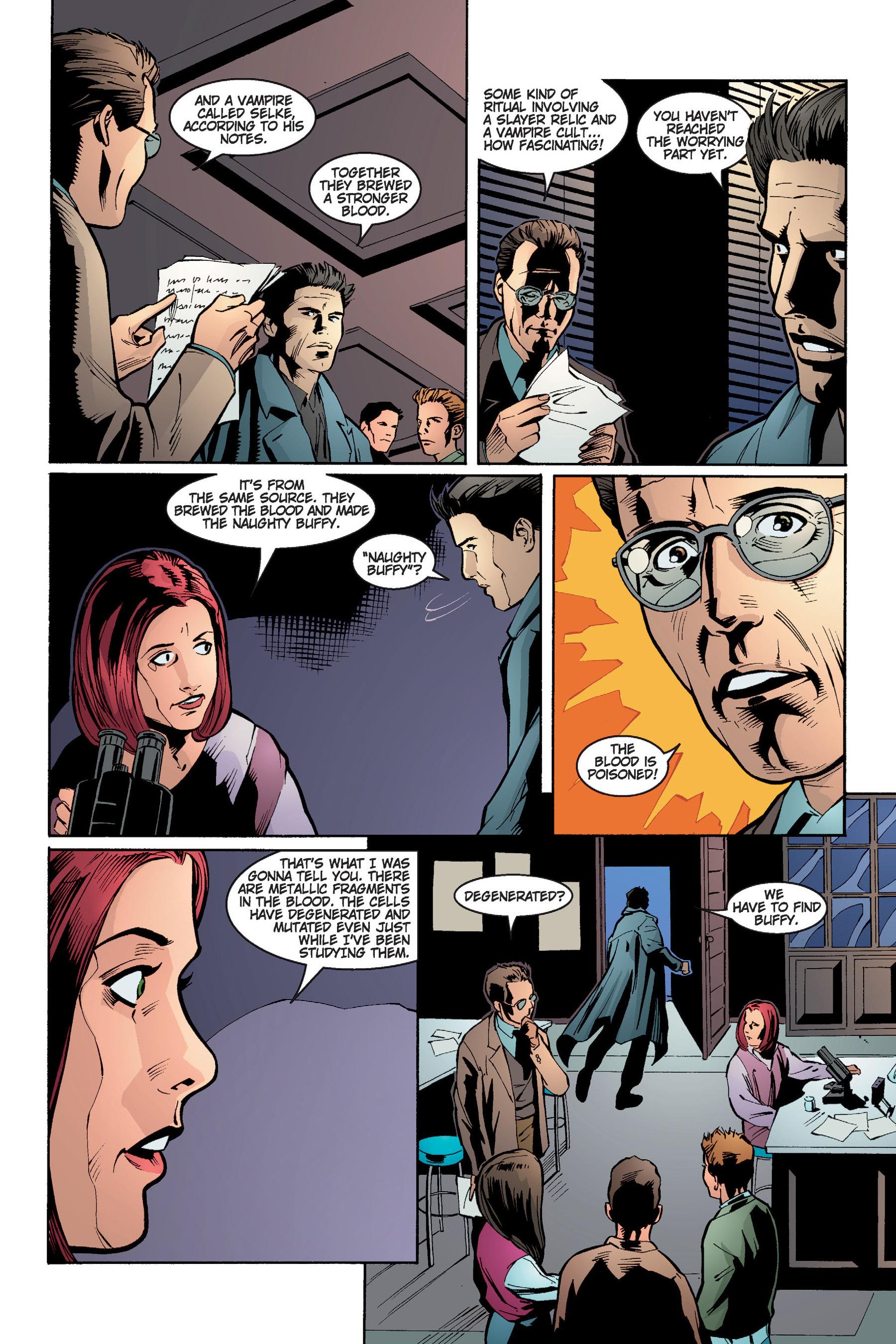Read online Buffy the Vampire Slayer: Omnibus comic -  Issue # TPB 4 - 188
