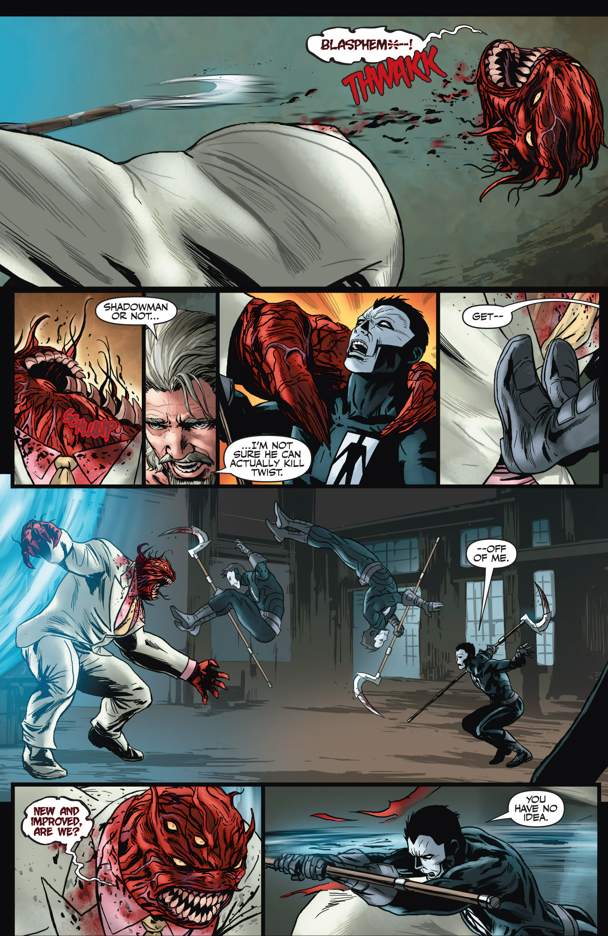 Read online Shadowman (2012) comic -  Issue #4 - 12