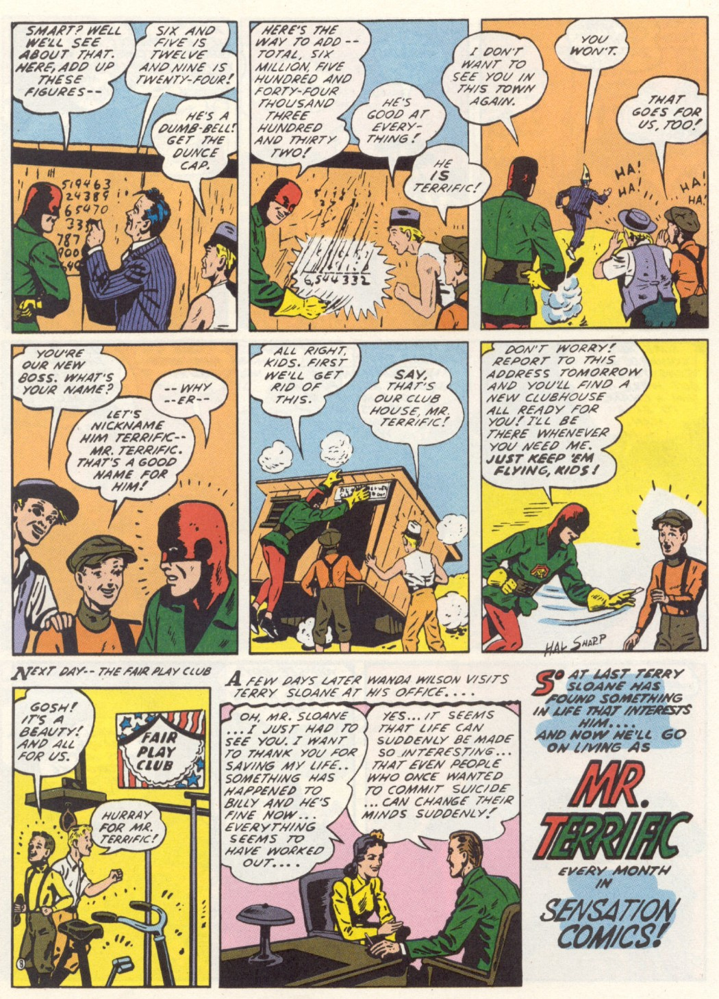 Read online Sensation (Mystery) Comics comic -  Issue #1 - 32