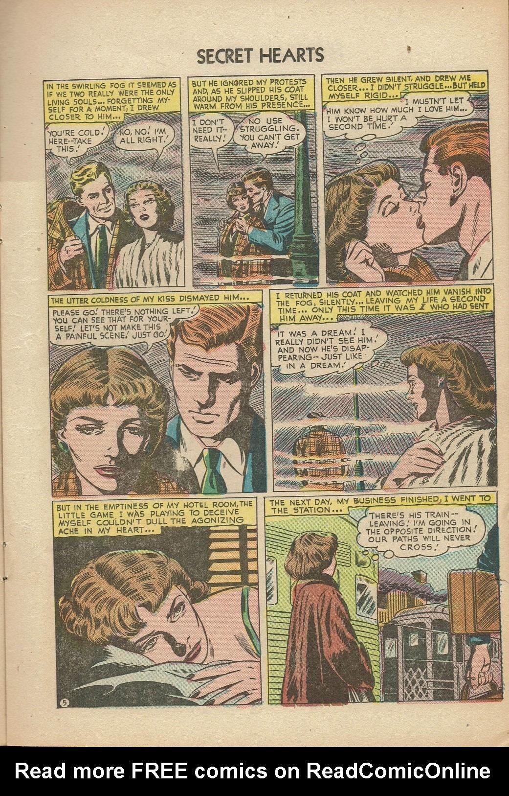 Read online Secret Hearts comic -  Issue #14 - 15