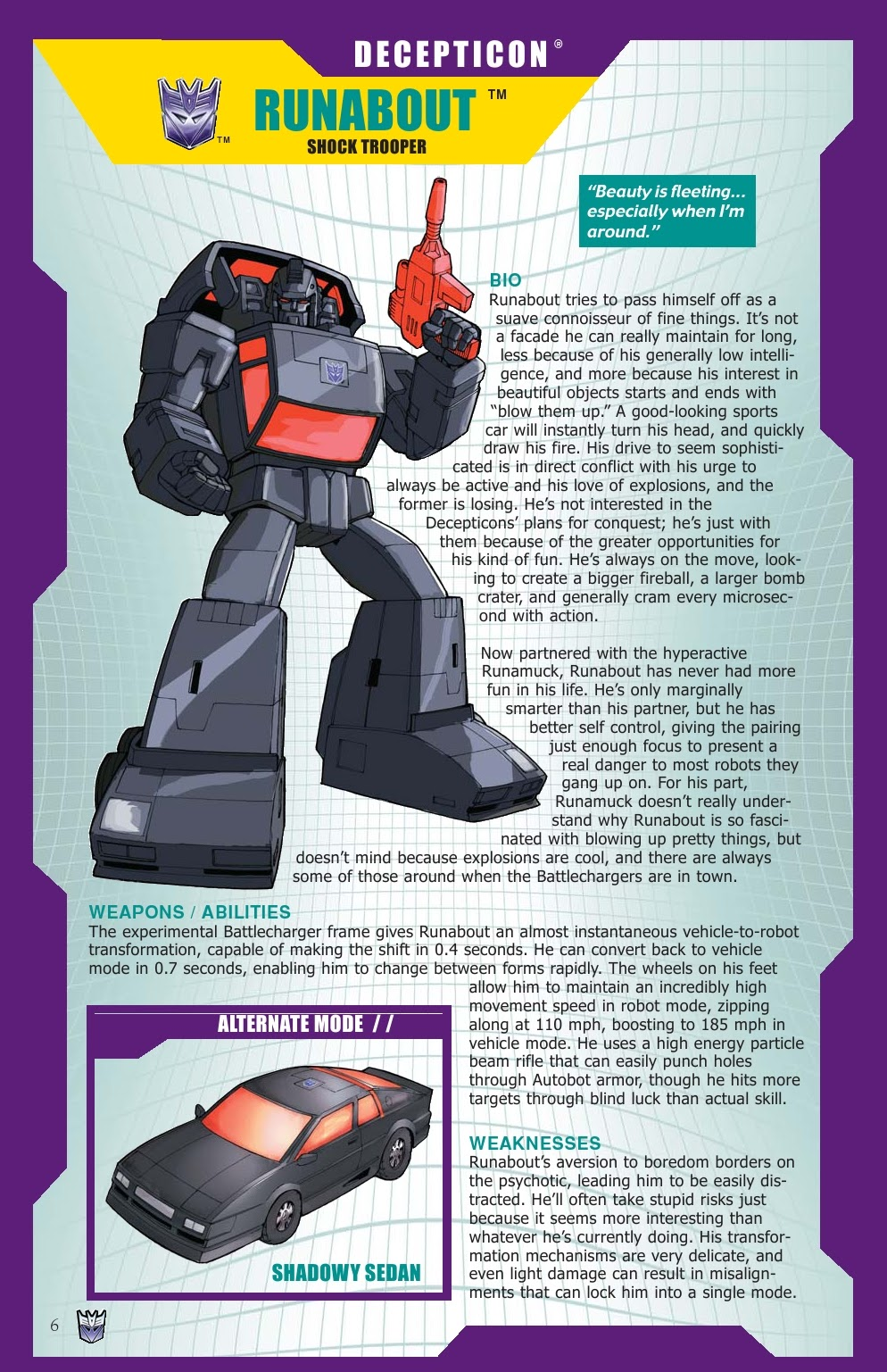 Read online Transformers: Collectors' Club comic -  Issue #31 - 6