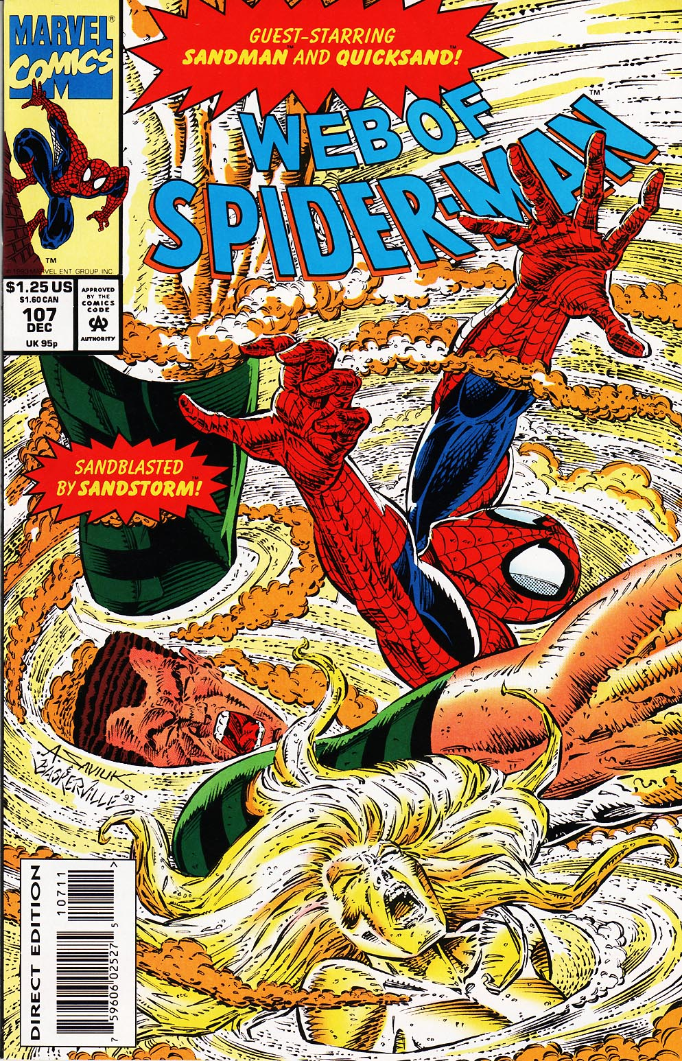Web of Spider-Man (1985) 107 Page 1