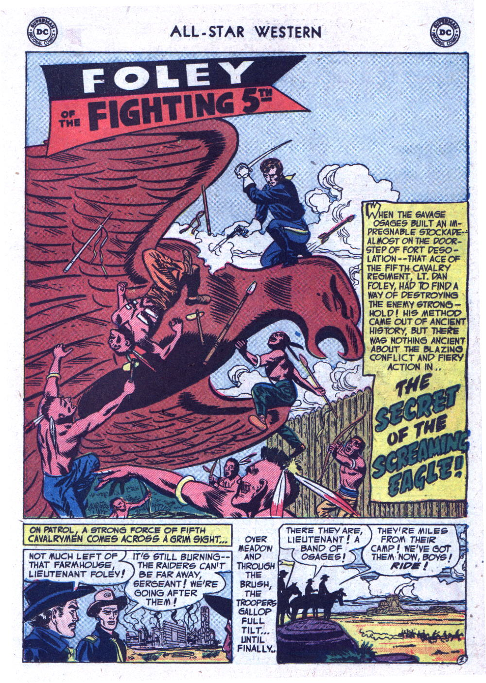 Read online All-Star Western (1951) comic -  Issue #71 - 19