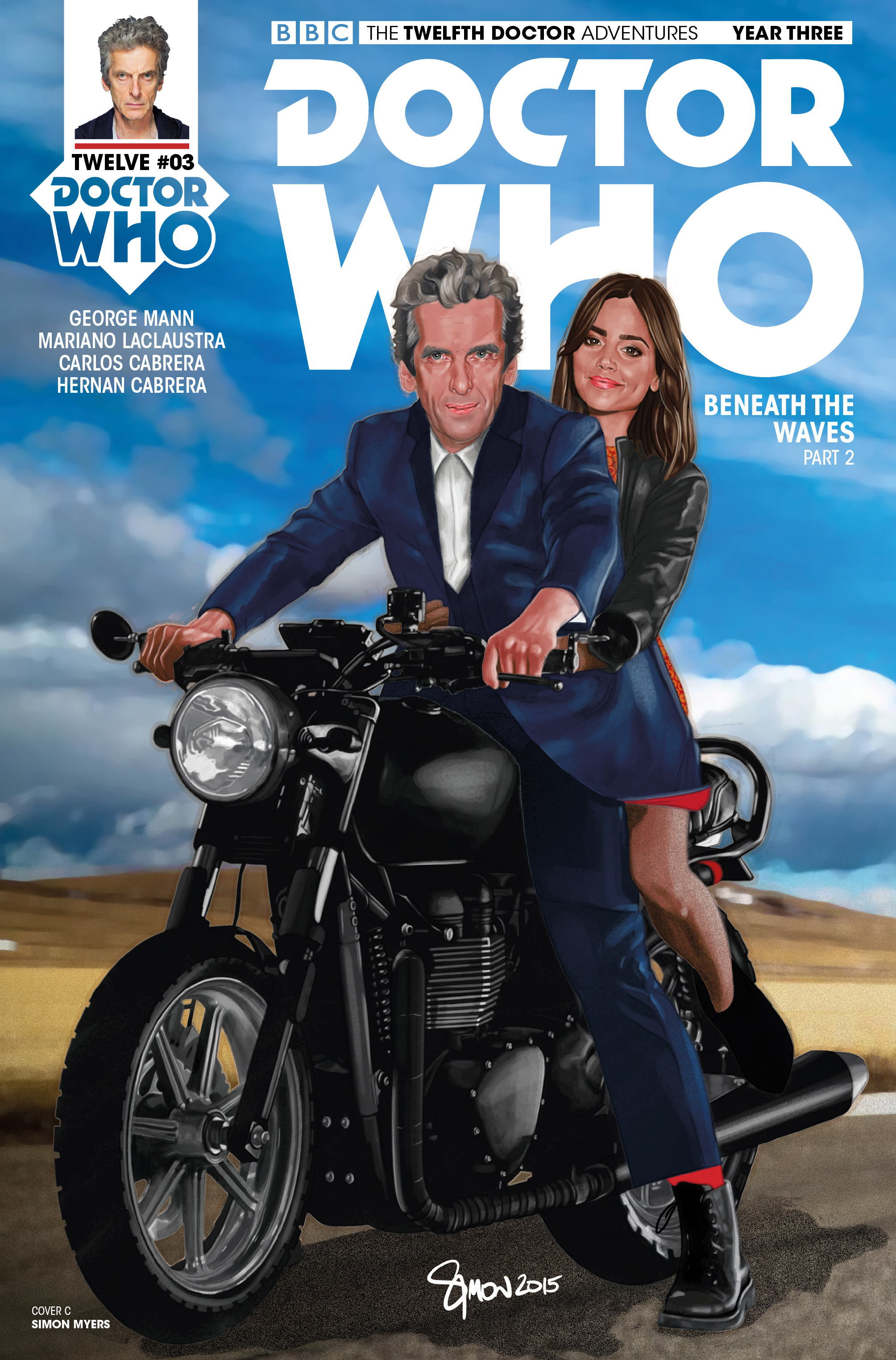Read online Doctor Who: The Twelfth Doctor Year Three comic -  Issue #3 - 3