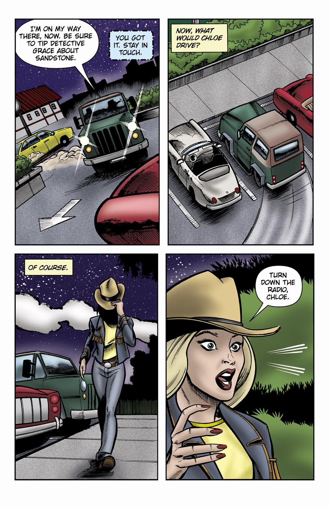 Read online SideChicks comic -  Issue #3 - 21
