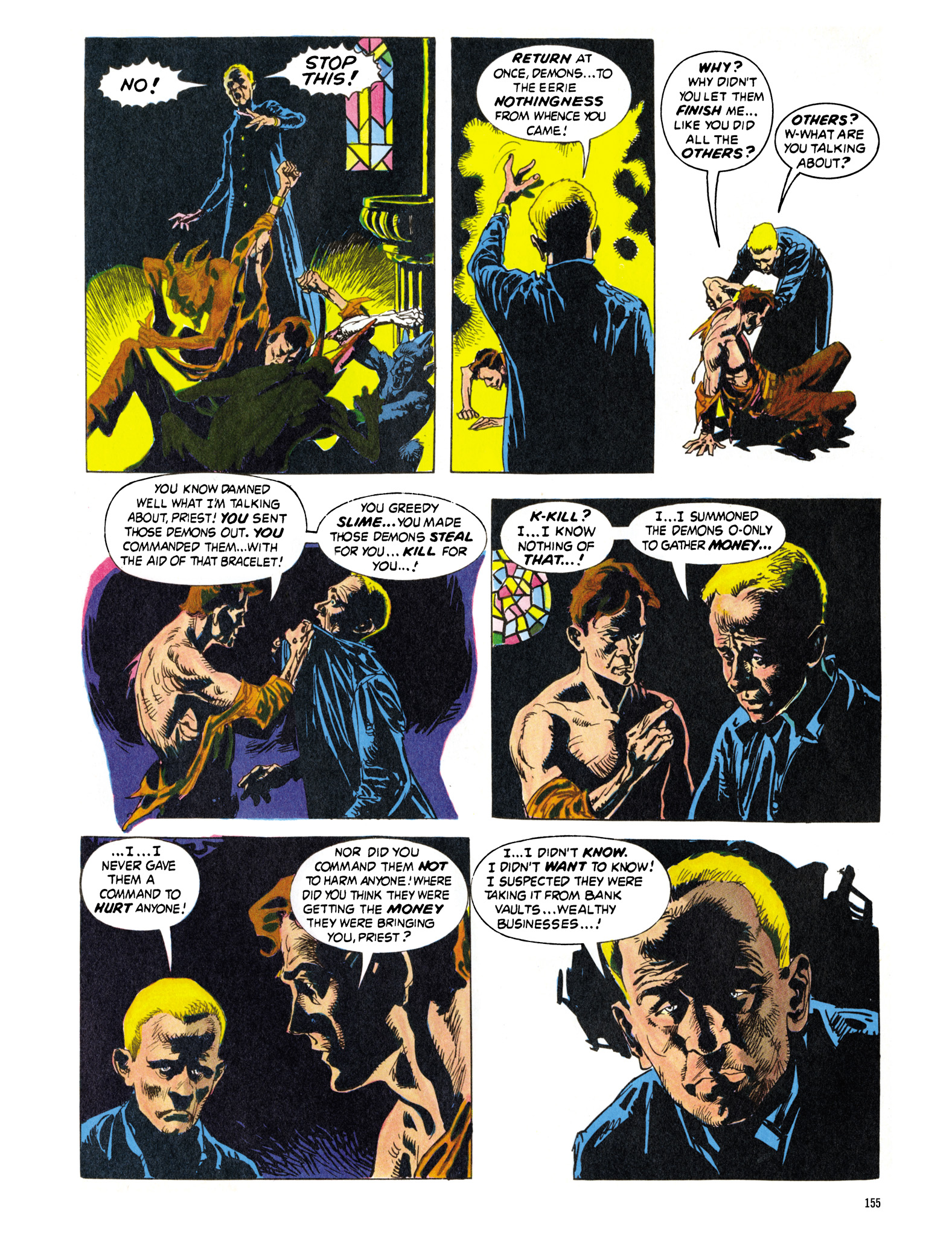Read online Eerie Archives comic -  Issue # TPB 16 - 156
