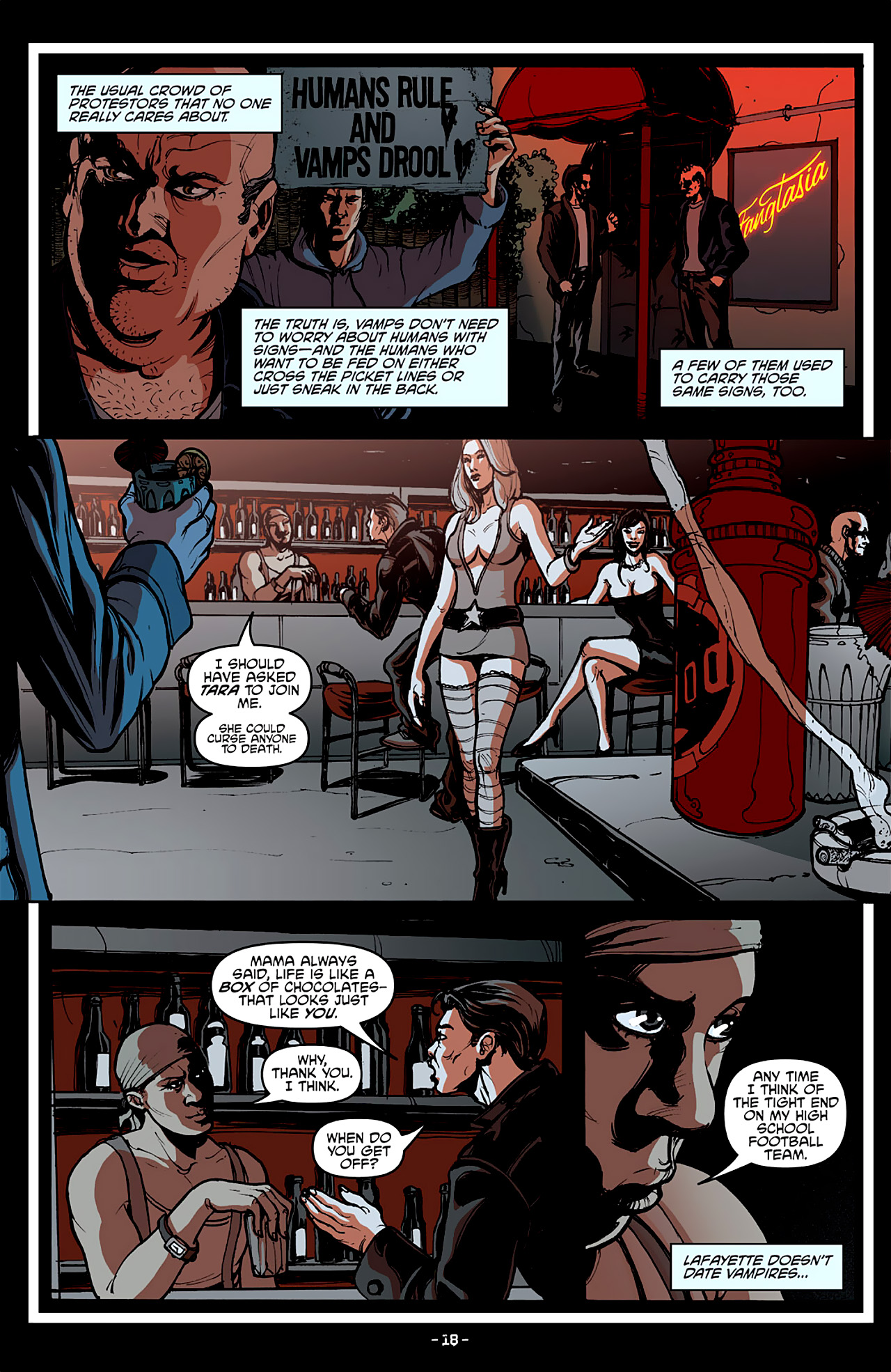 Read online True Blood: French Quarter comic -  Issue #4 - 22