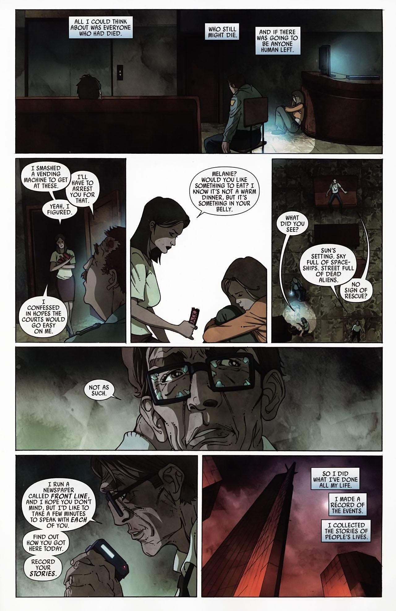 Read online Secret Invasion: Front Line comic -  Issue #4 - 20