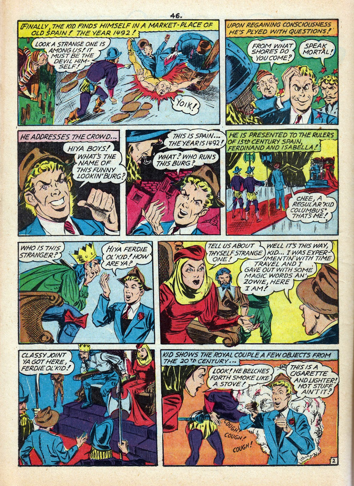 Read online Comedy Comics (1942) comic -  Issue #10 - 48