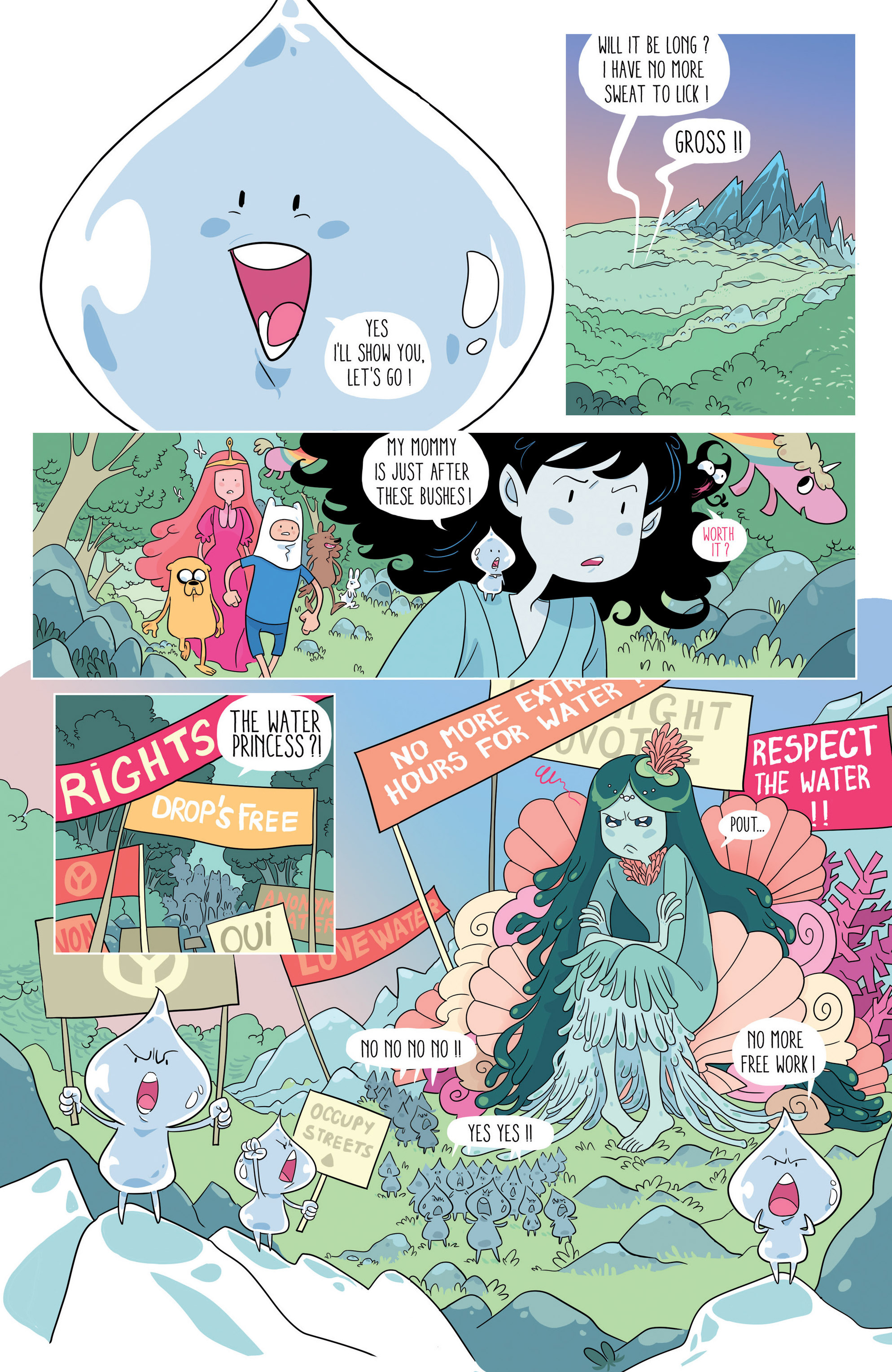 Read online Adventure Time comic -  Issue #46 - 22
