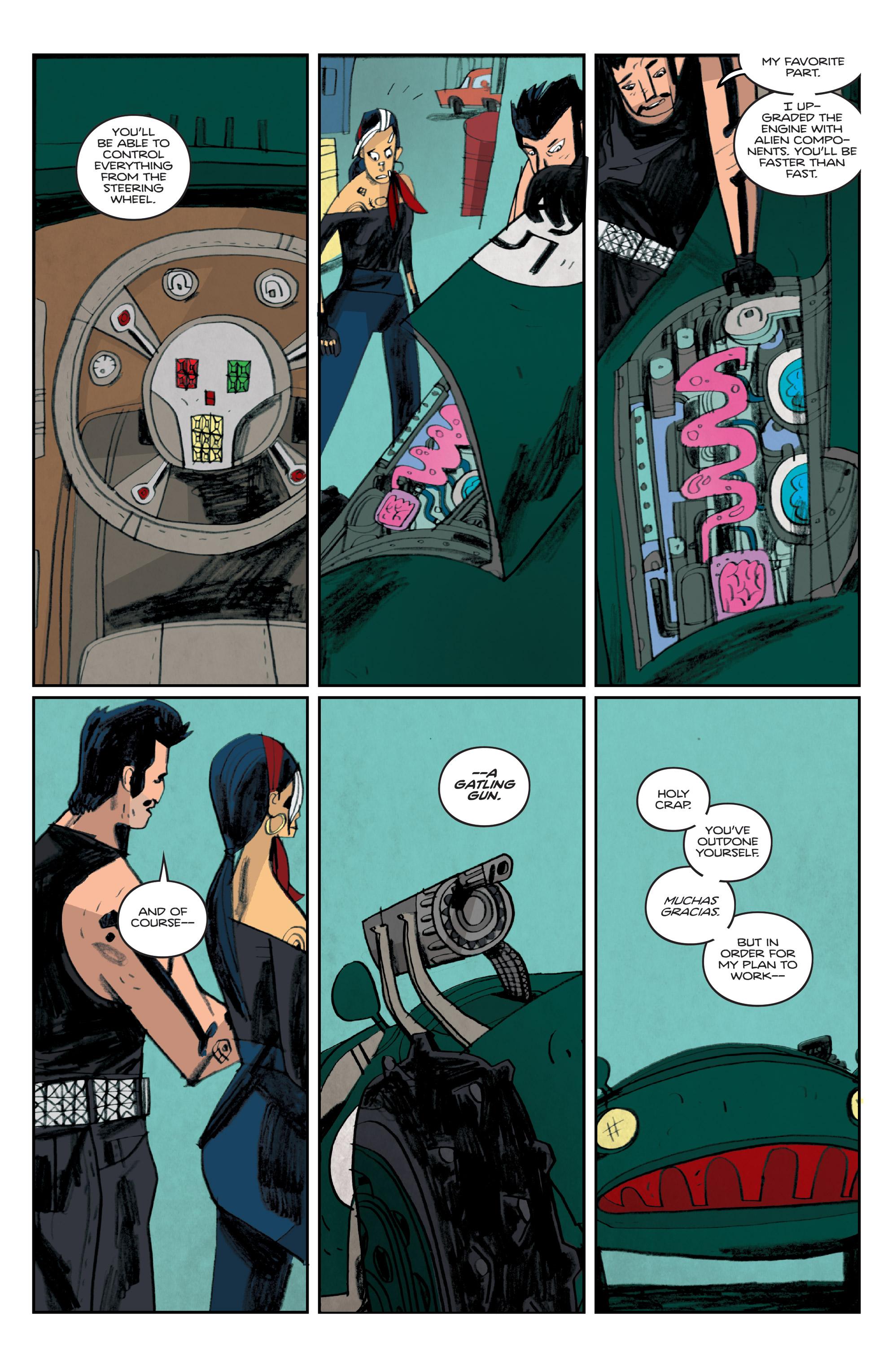 Read online Helena Crash comic -  Issue #4 - 9