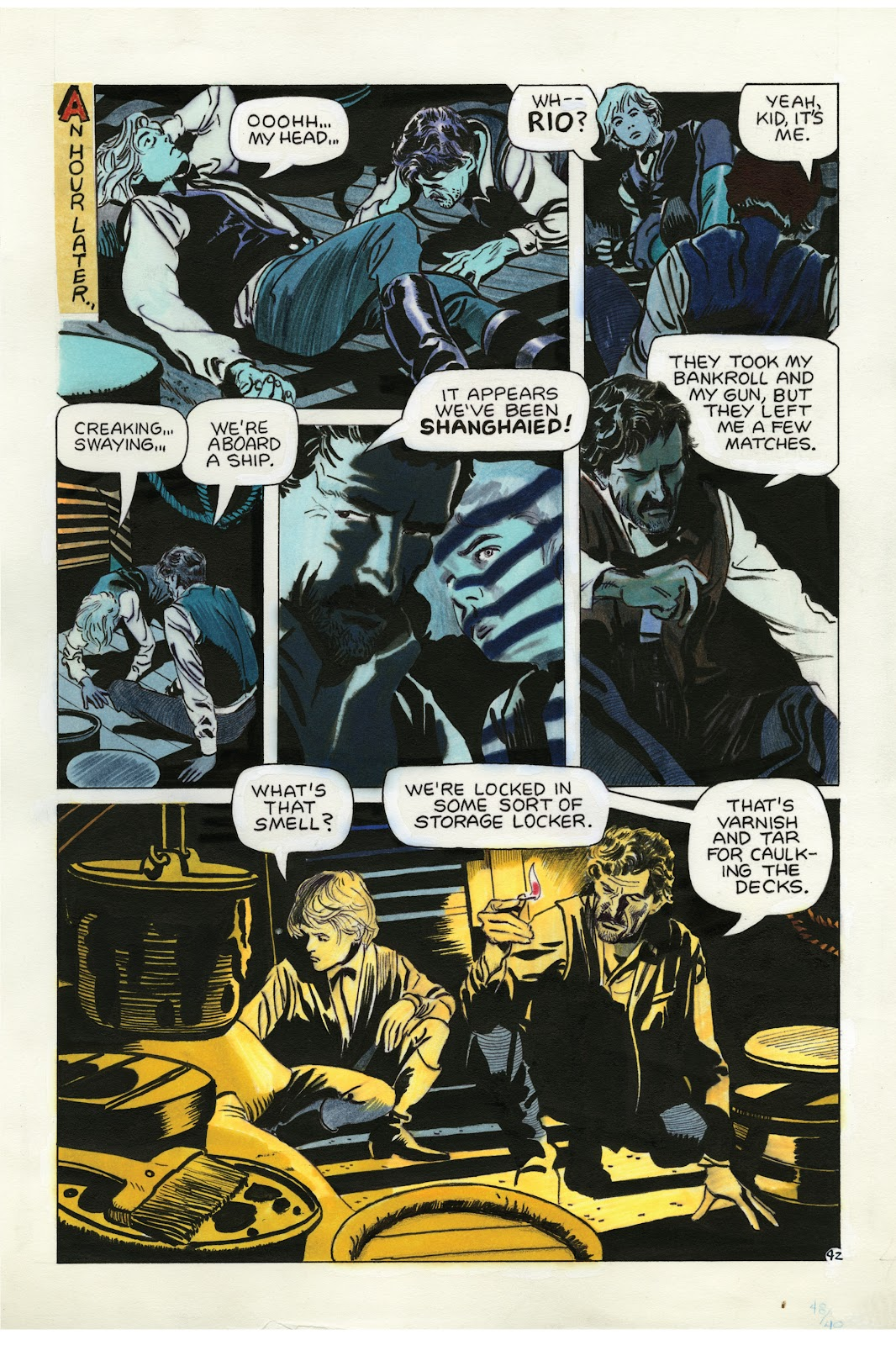 Read online Doug Wildey's Rio: The Complete Saga comic -  Issue # TPB (Part 2) - 77