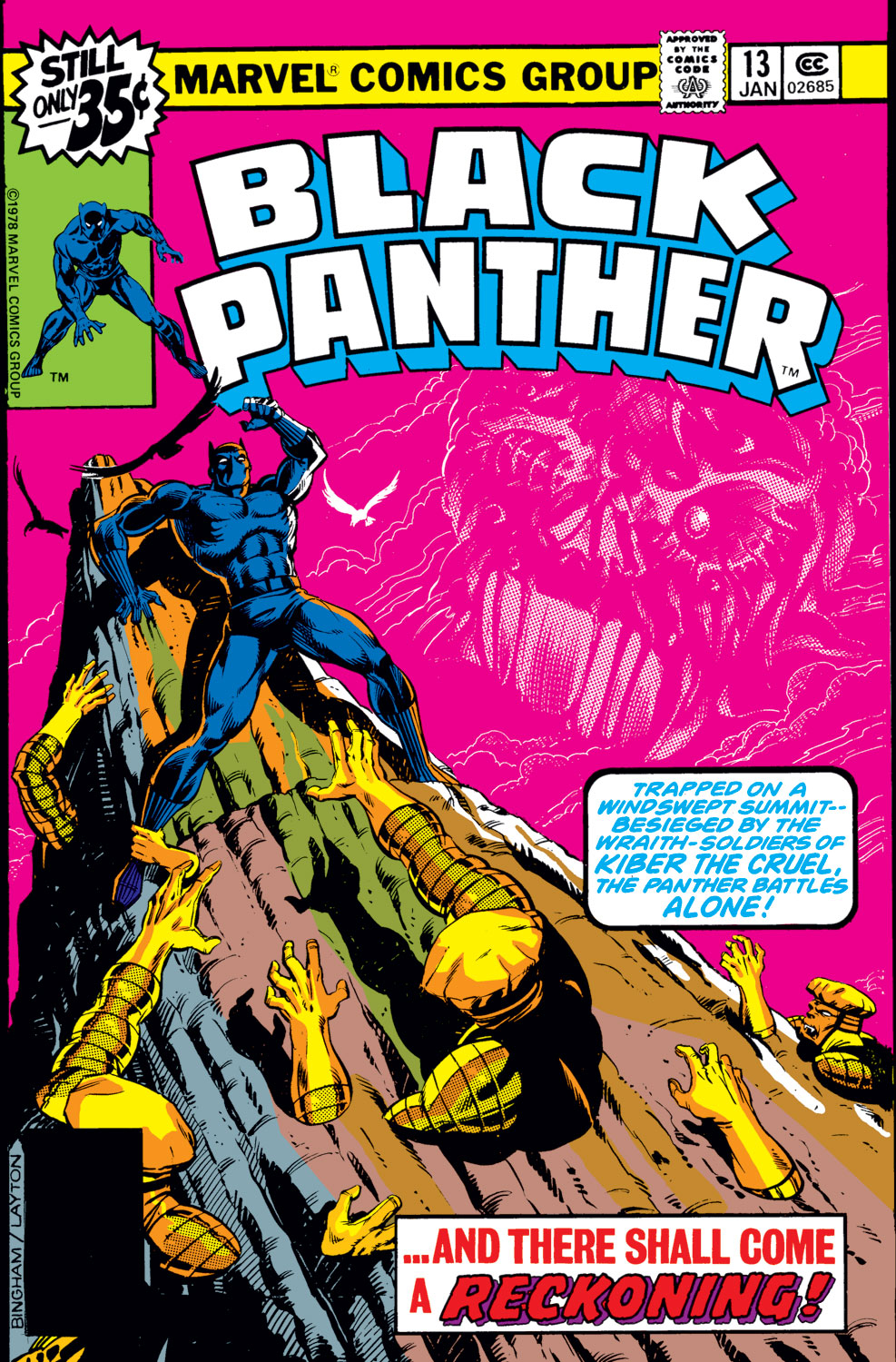Black Panther (1977) issue 13 - Page 1