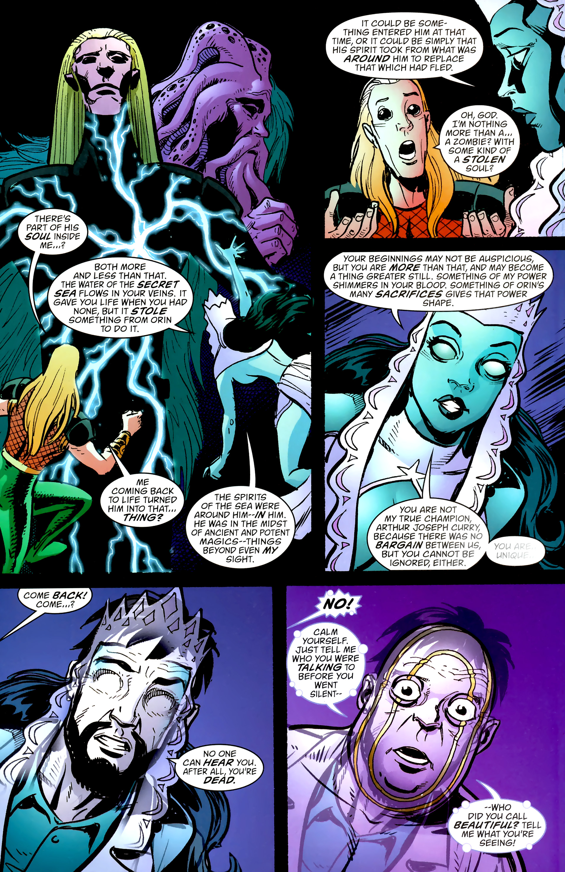 Read online Aquaman: Sword of Atlantis comic -  Issue #57 - 16