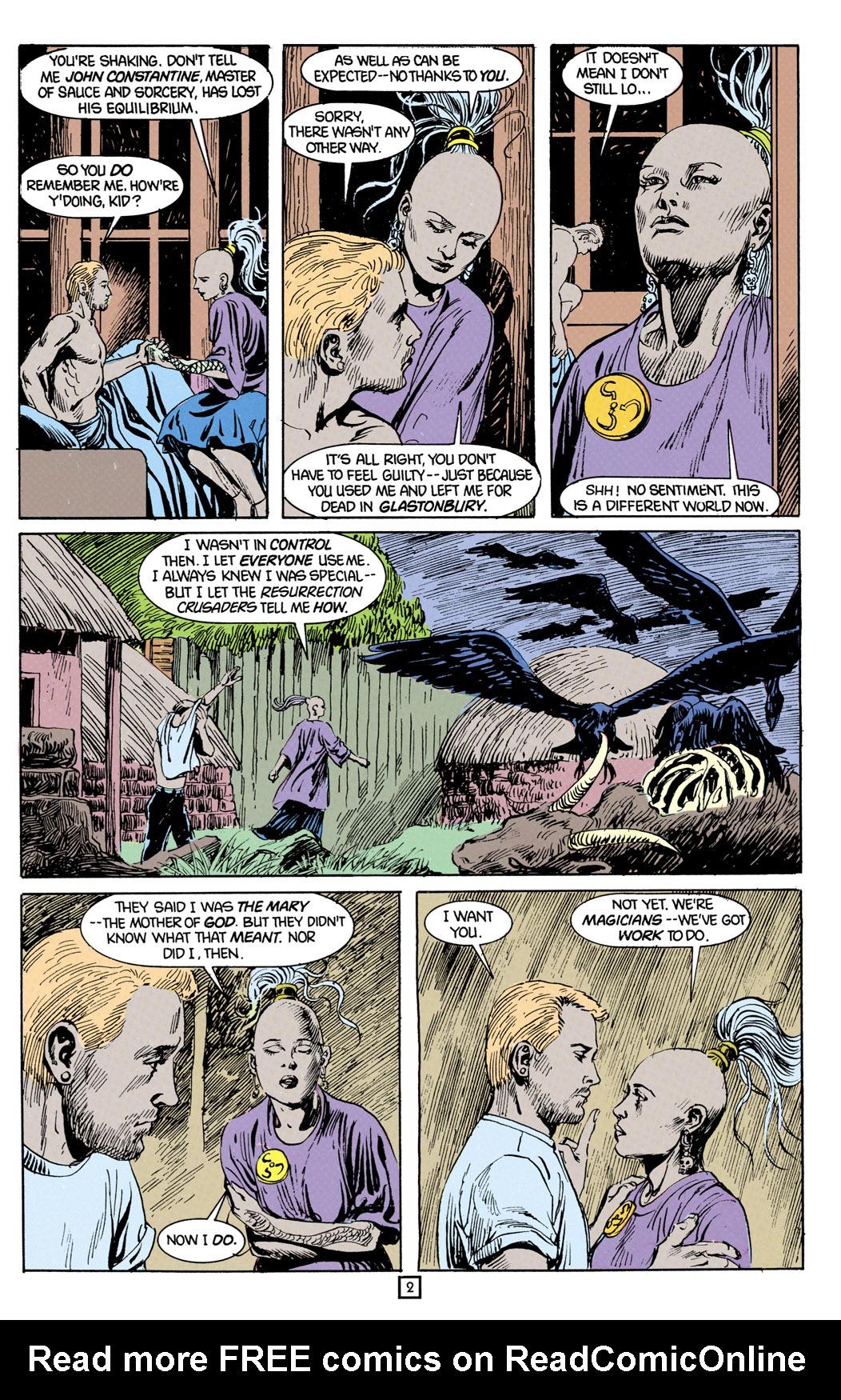 Hellblazer 22 Page 3