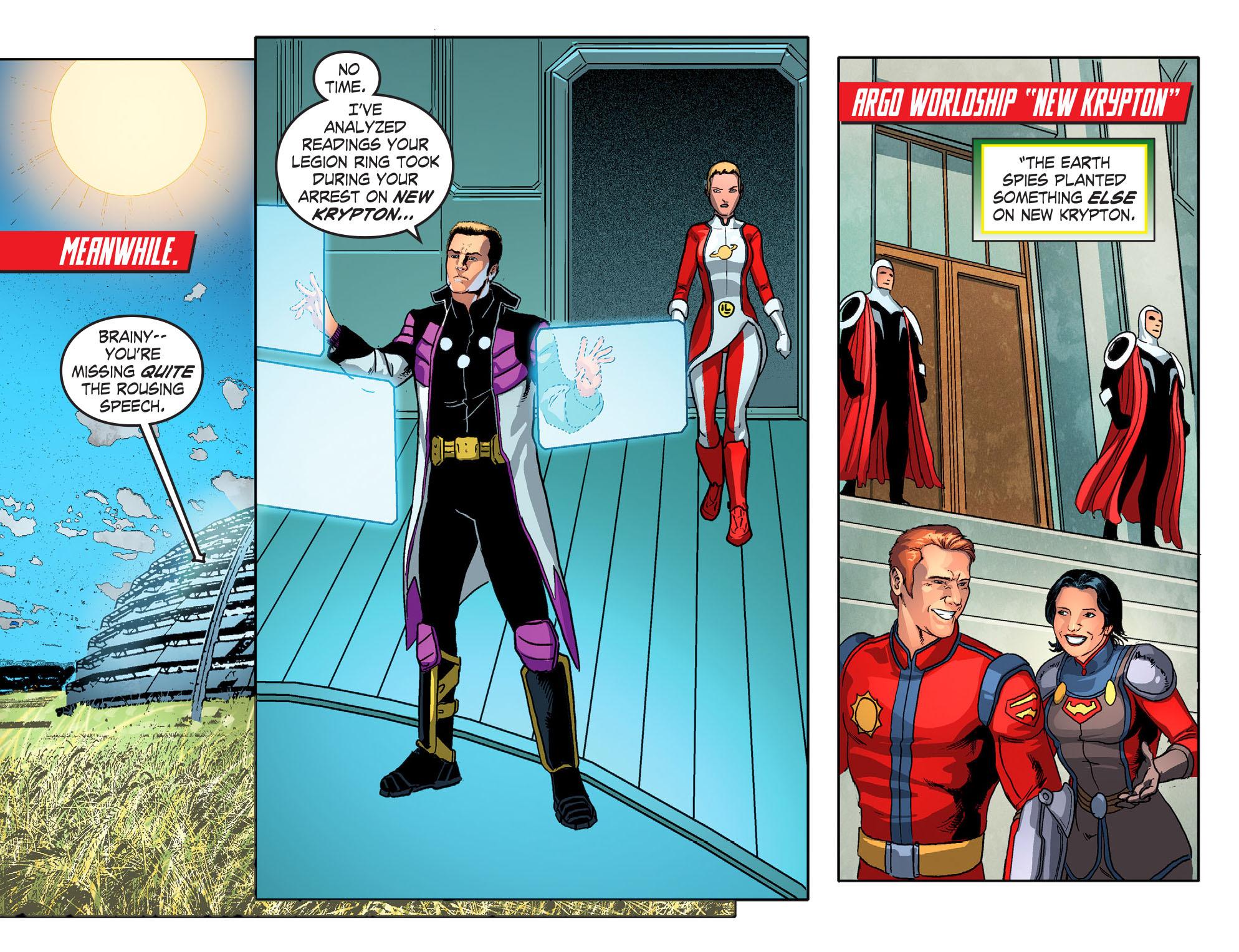 Read online Smallville: Season 11 comic -  Issue #51 - 9