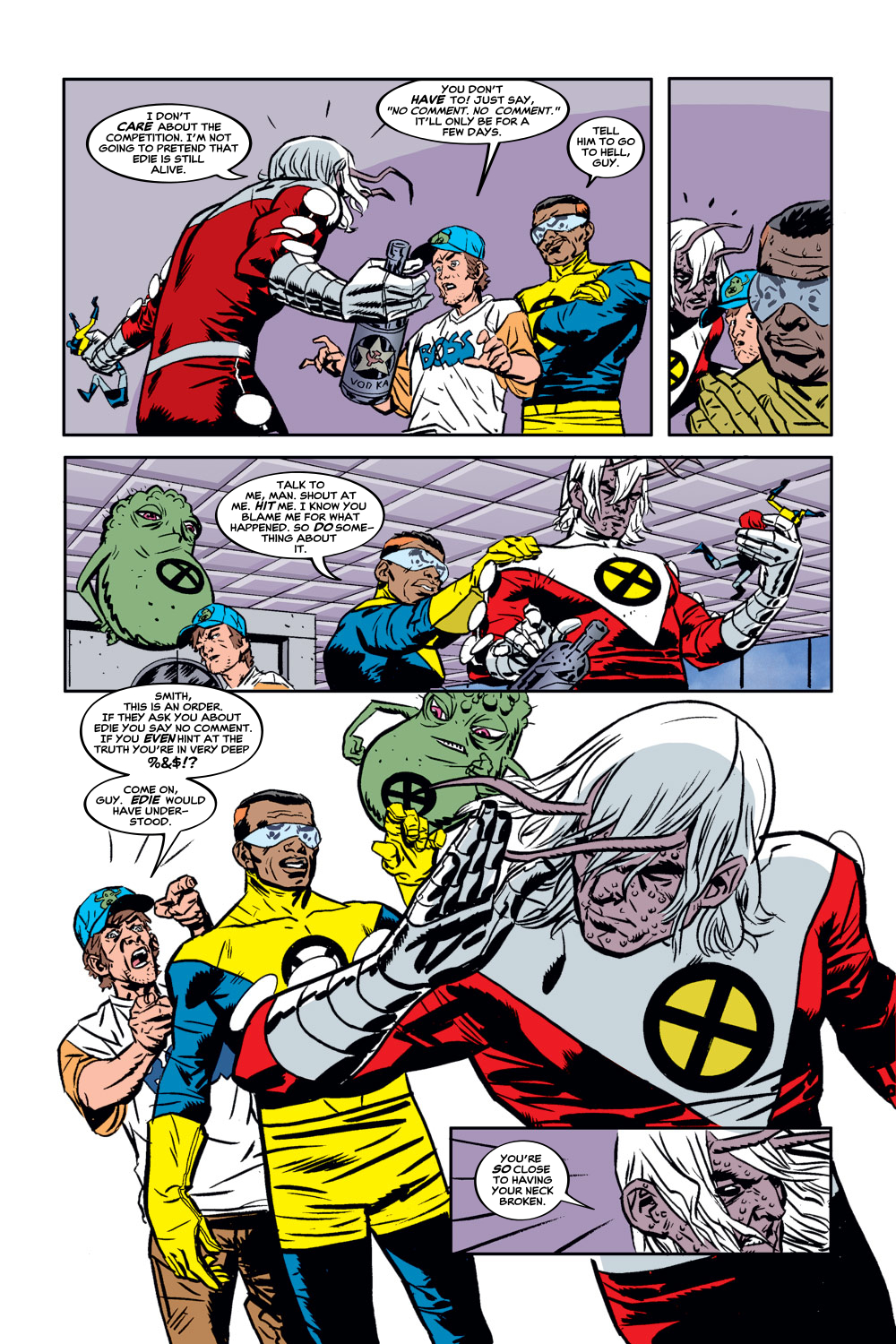 Read online X-Force (1991) comic -  Issue #129 - 5