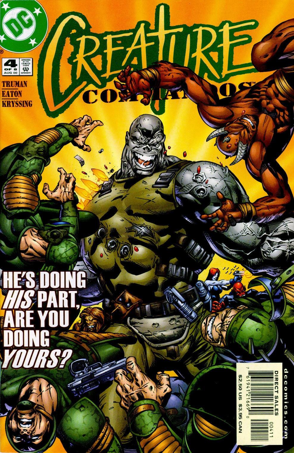 Creature Commandos (2000) 4 Page 1
