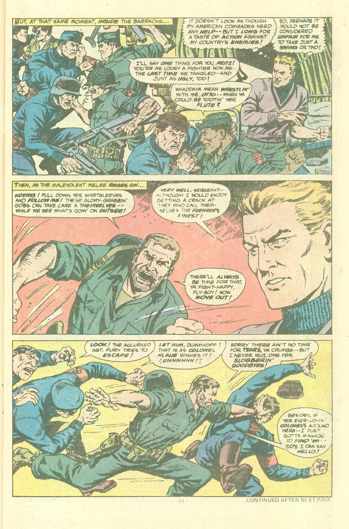 Read online Sgt. Fury comic -  Issue #143 - 13
